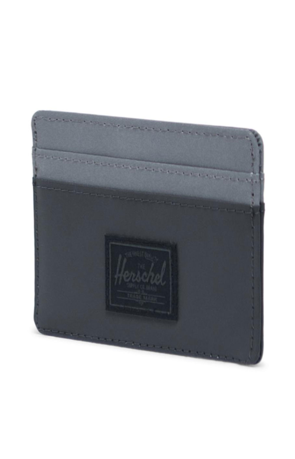 Charlie Reflective Wallet - Black/Silver 3