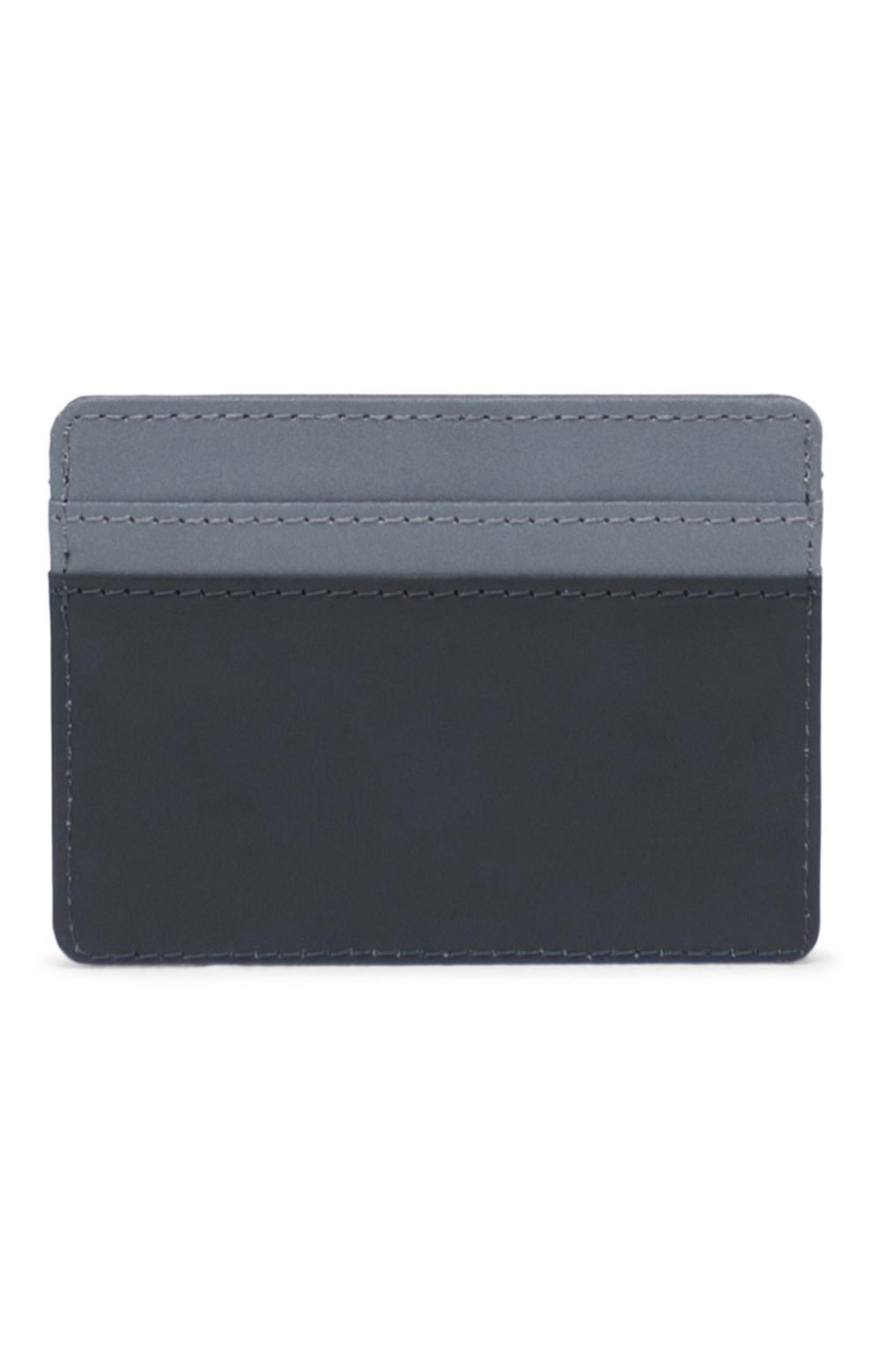Charlie Reflective Wallet - Black/Silver 4