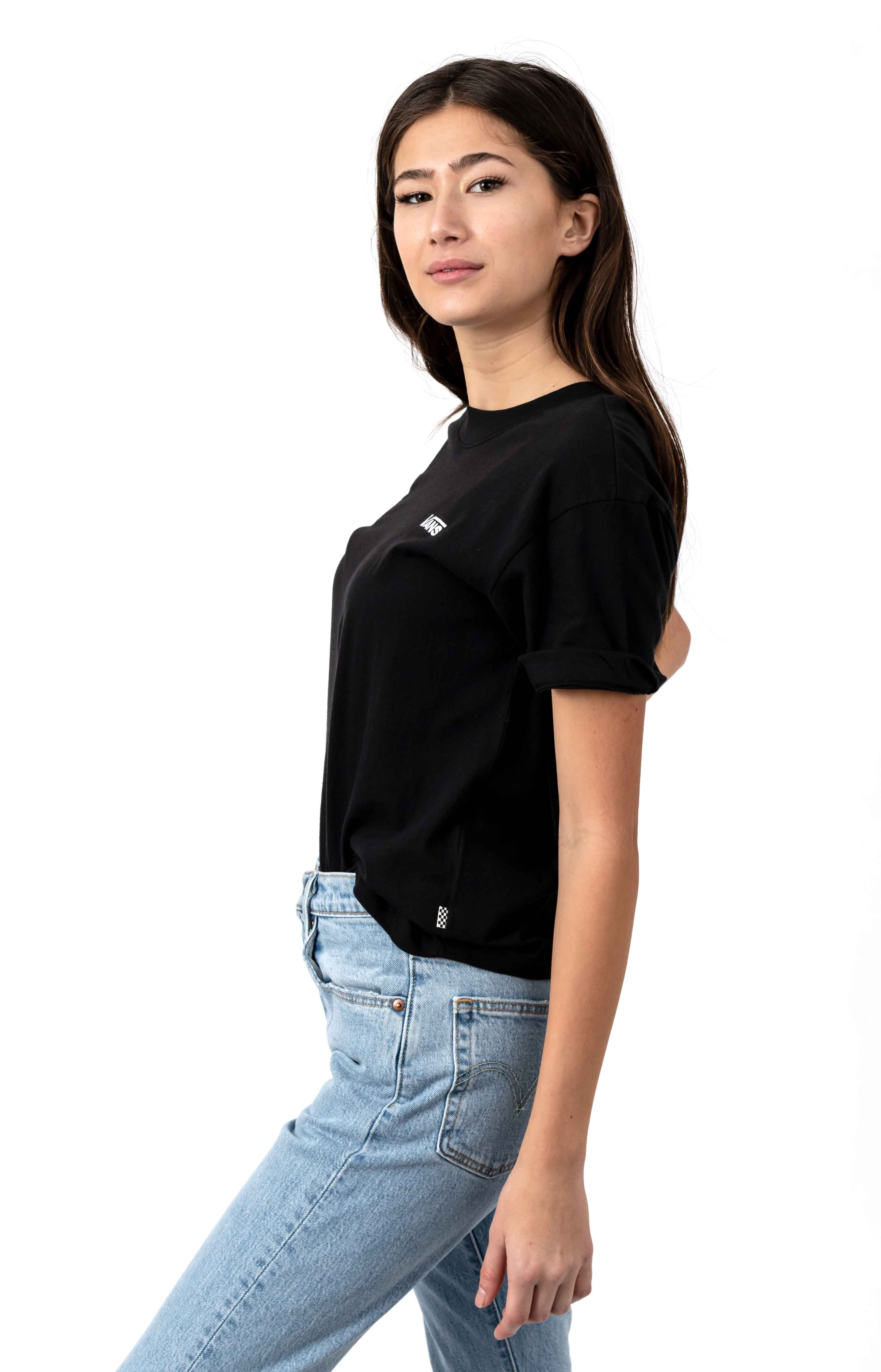 Junior V Boxy T-Shirt - Black 2
