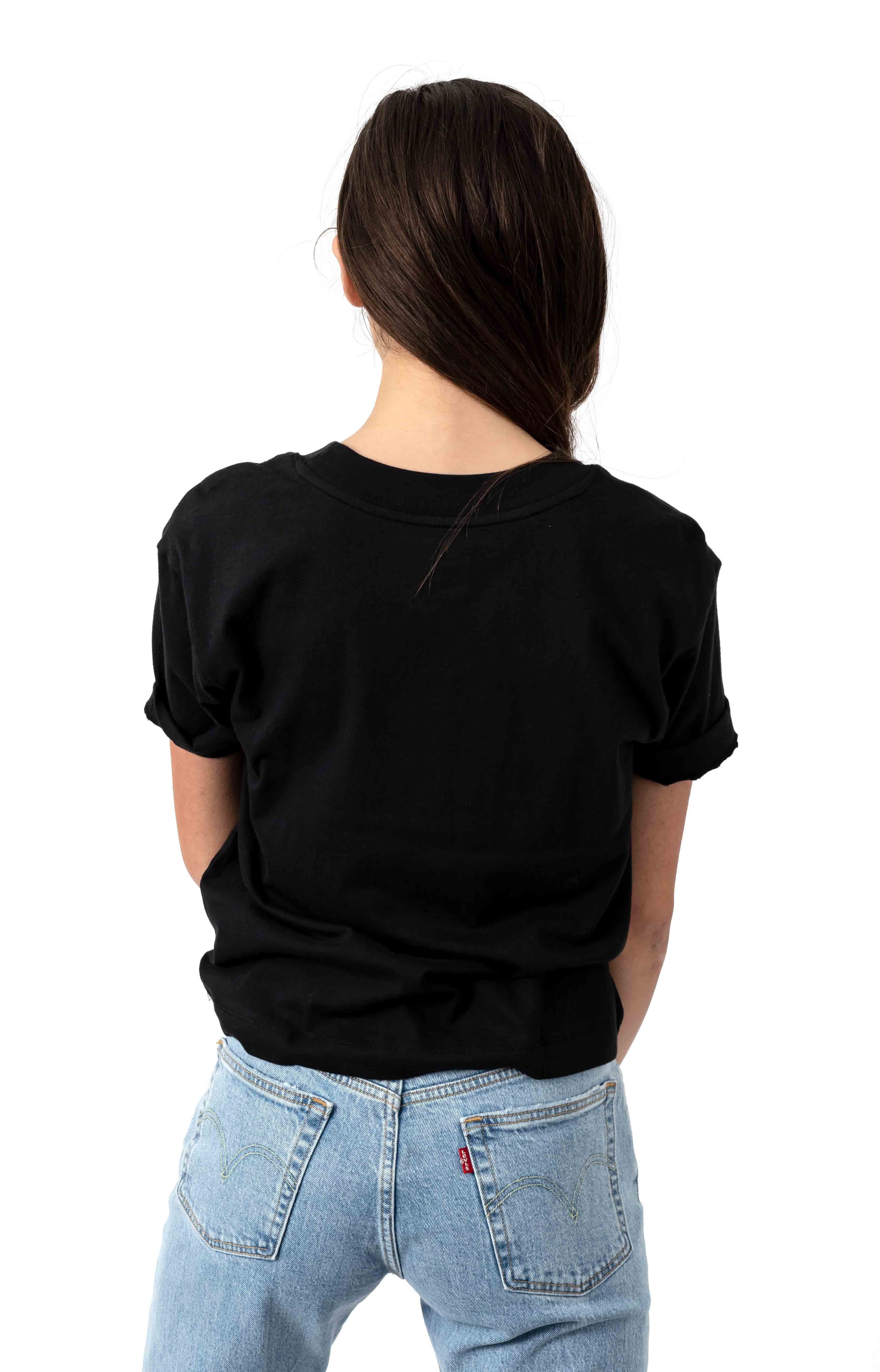 Junior V Boxy T-Shirt - Black 3