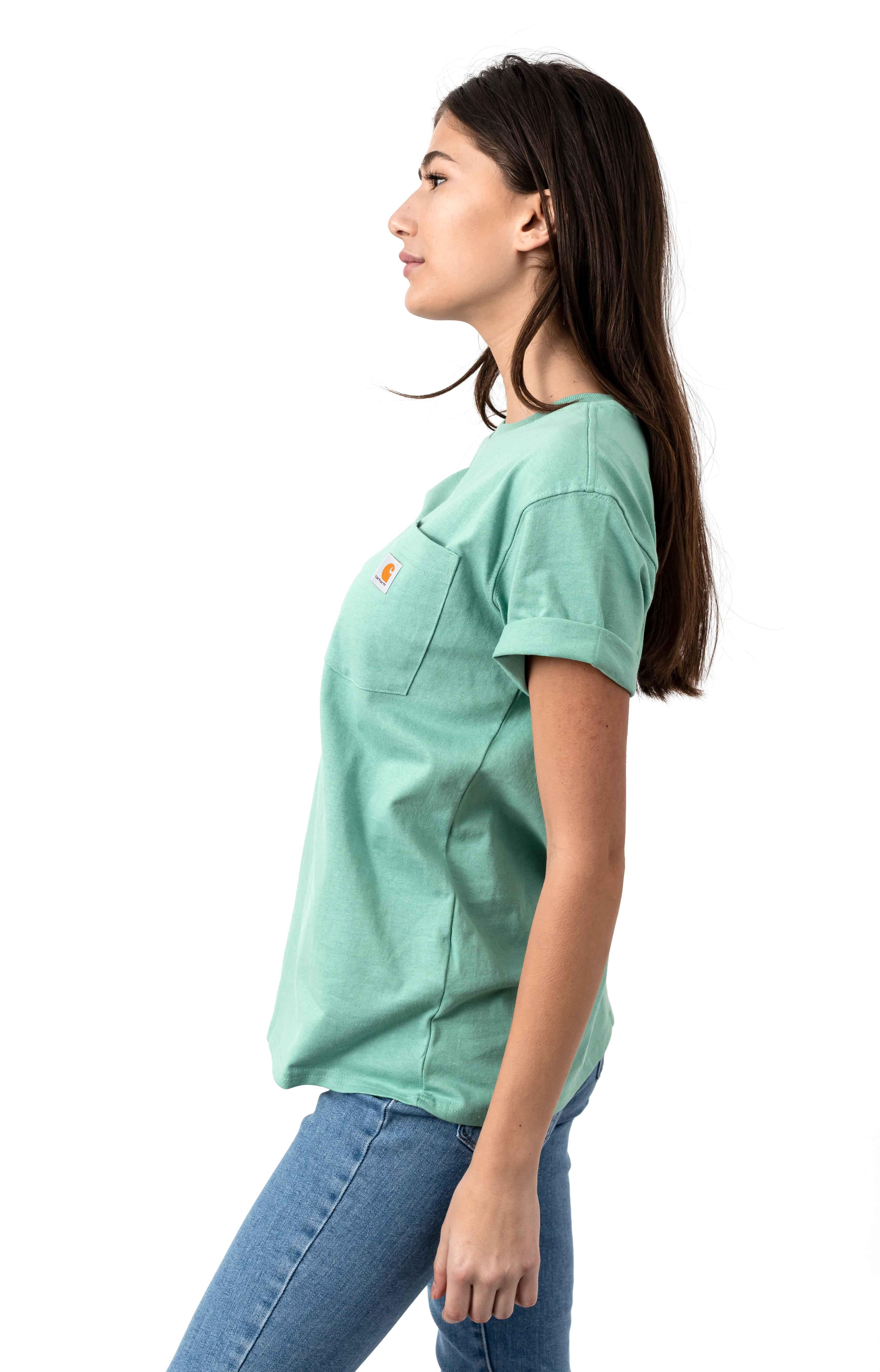 (103067) WK87 Workwear Pocket T-Shirt - Botanic Green 2