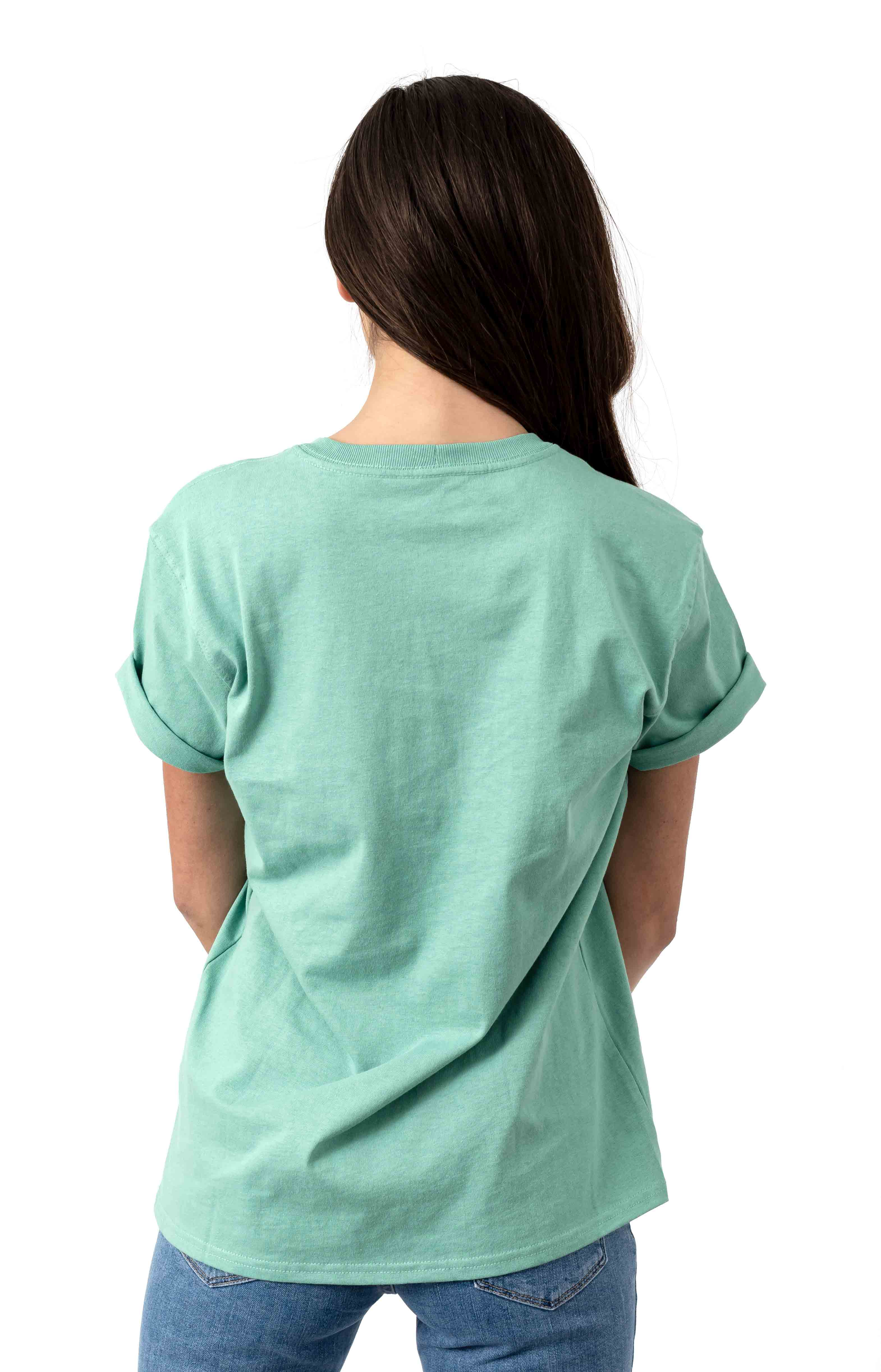 (103067) WK87 Workwear Pocket T-Shirt - Botanic Green 3