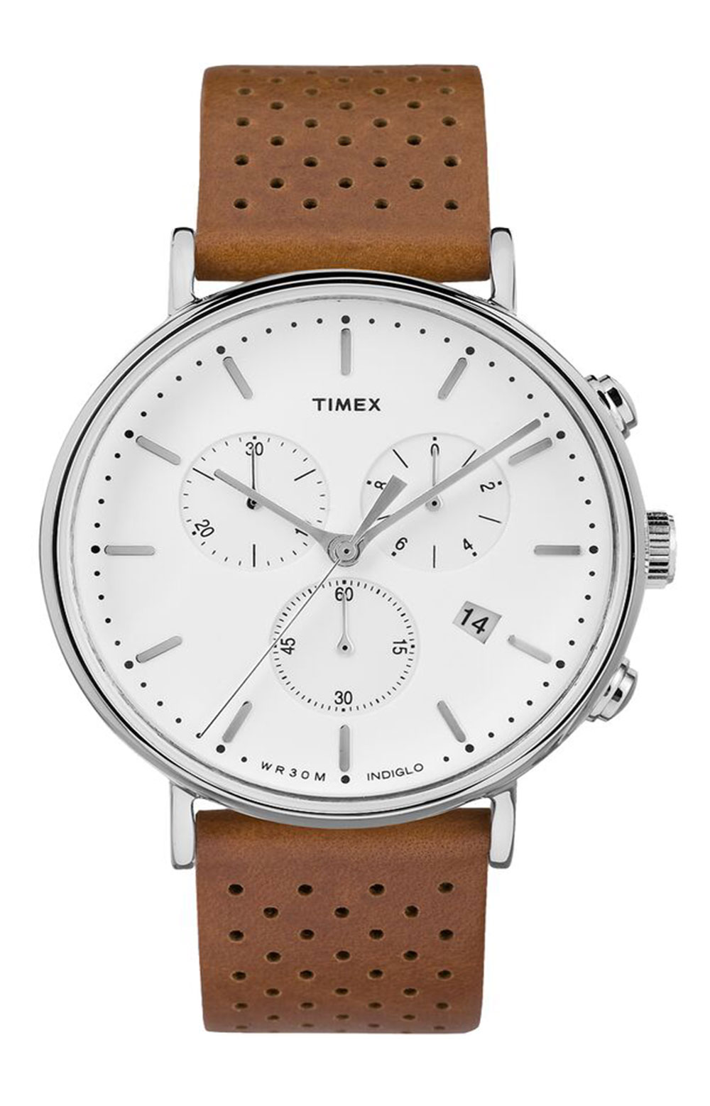 (TW2R26700VQ) Fairfield Chronograph 41mm Leather Strap Watch