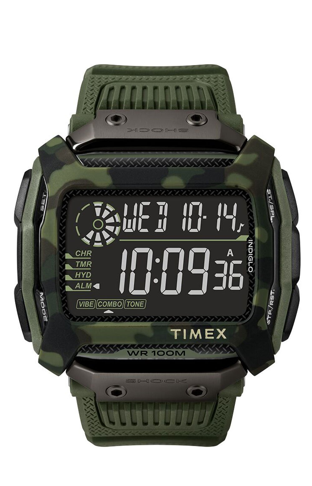 (TW5M20400JV) Command Shock 54mm Resin Strap Watch