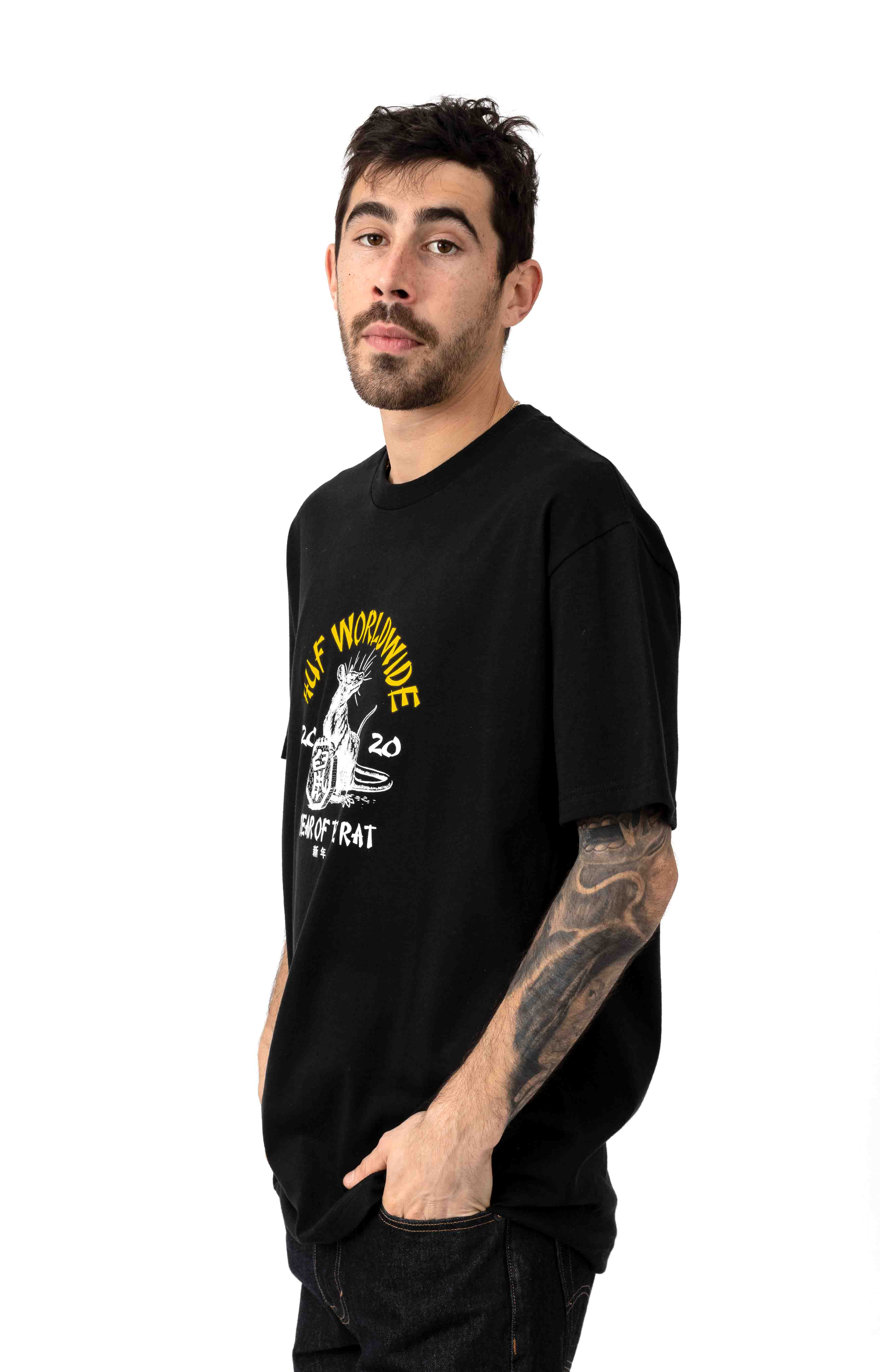 Year Of The Rat T-Shirt - Black 2