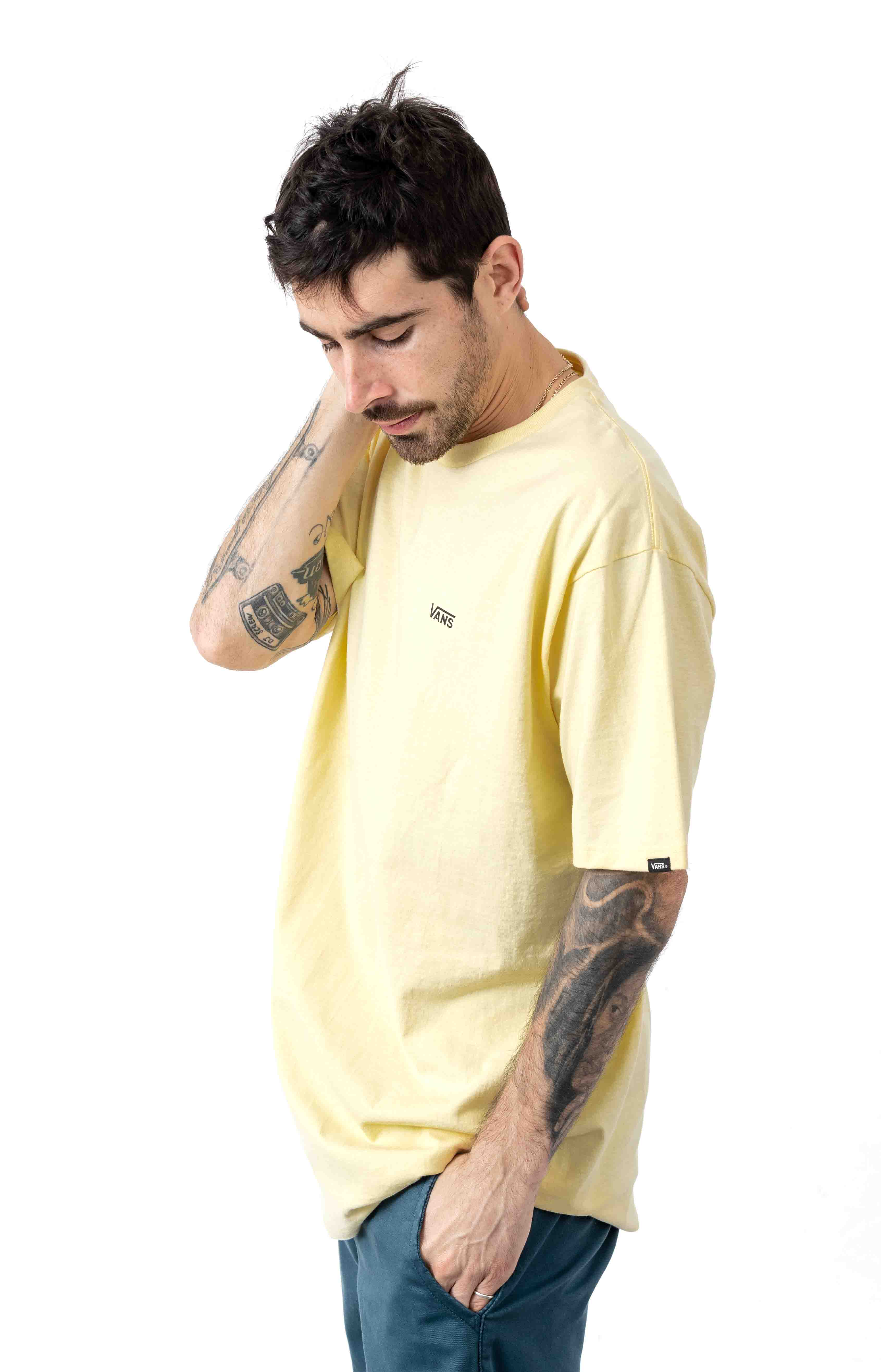 Left Chest Logo T-Shirt - Double Cream 2