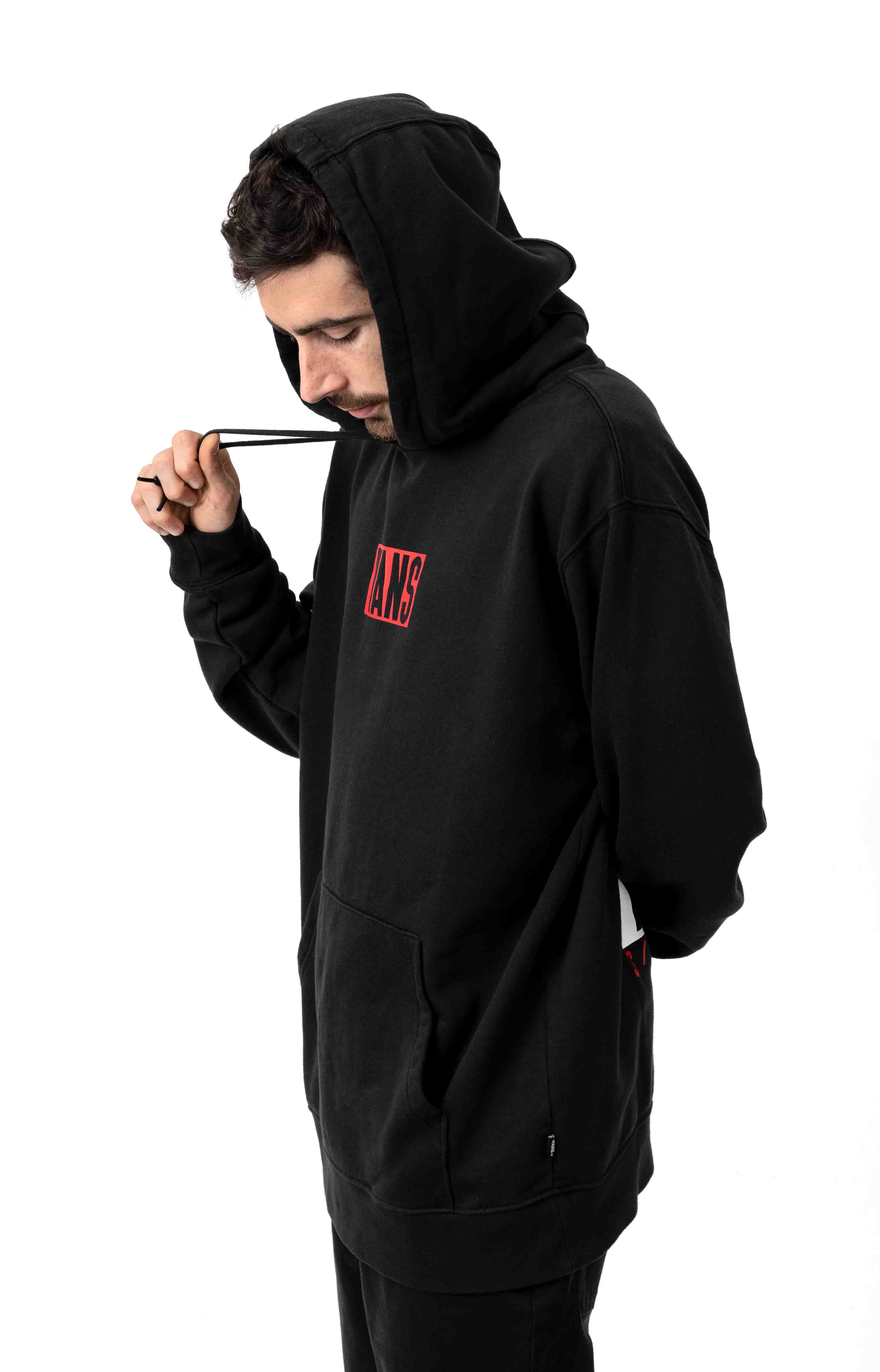 New Stax Pullover Hoodie - Black 2
