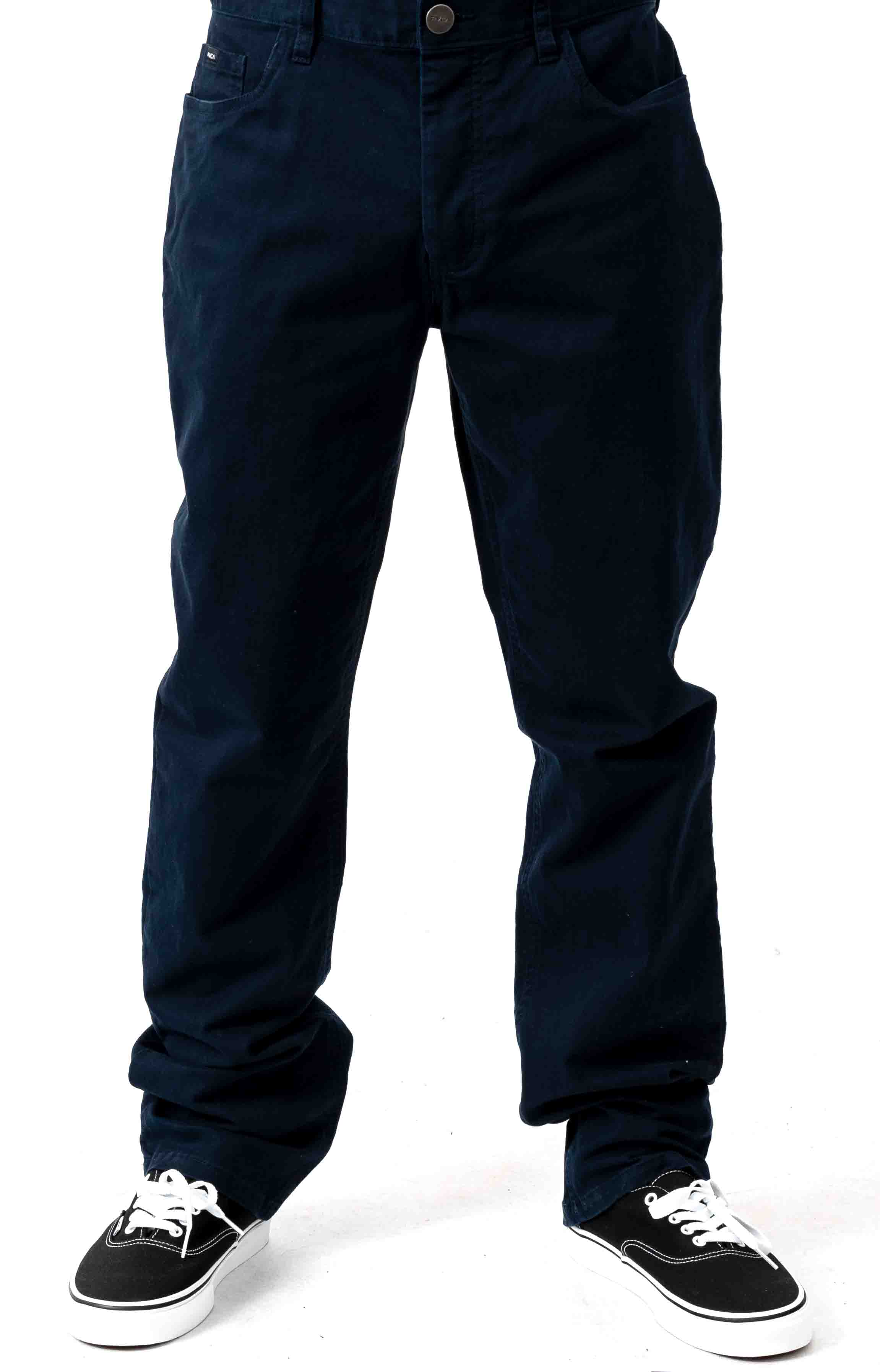 Week-End 5 Pocket Pants - Navy Marine  2