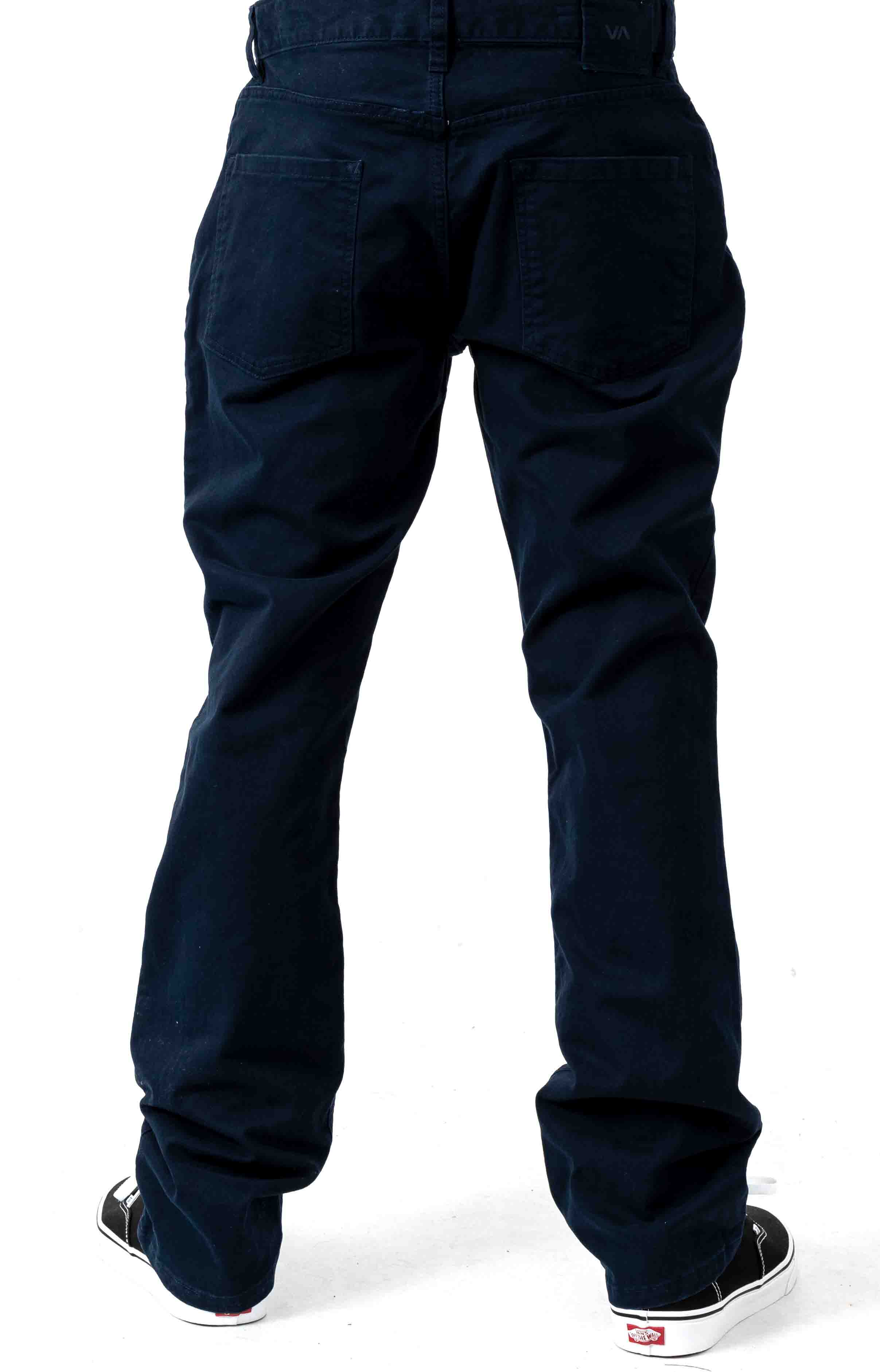 Week-End 5 Pocket Pants - Navy Marine  3