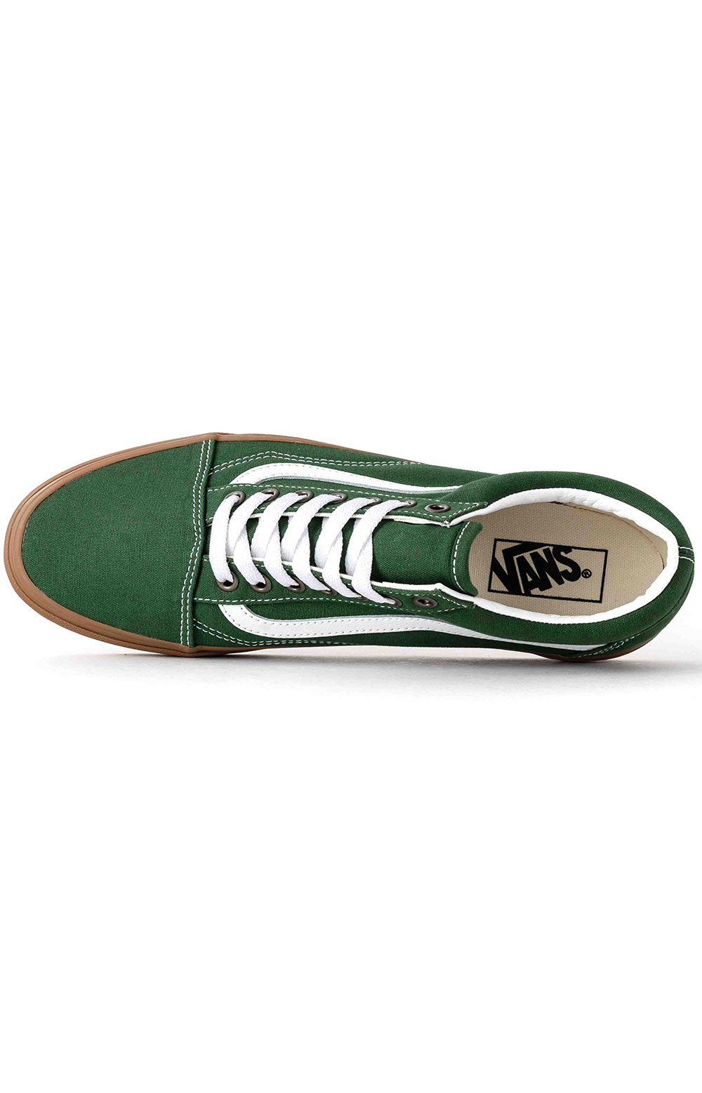 (U3BWYY) Gum Old Skool Shoe - Green Pastures  2