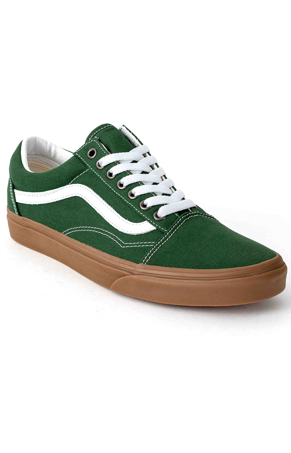 (U3BWYY) Gum Old Skool Shoe - Green Pastures  3
