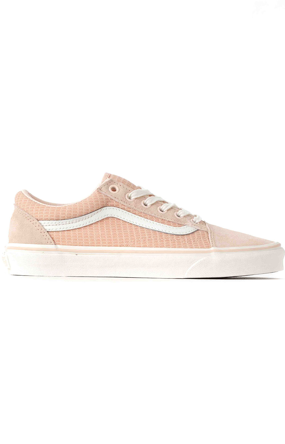 (U3BXF4) Multi Woven Old Skool Shoe - Pink
