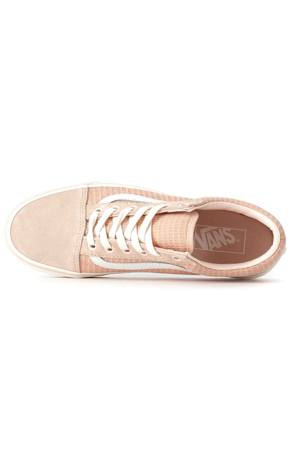 (U3BXF4) Multi Woven Old Skool Shoe - Pink  2