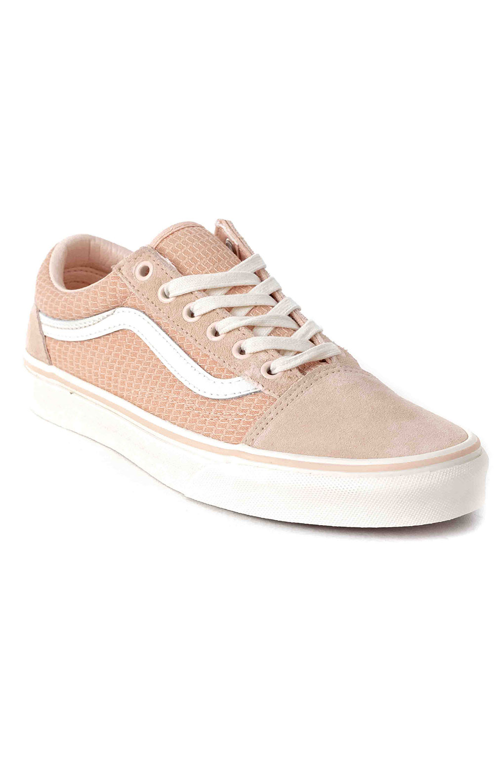 (U3BXF4) Multi Woven Old Skool Shoe - Pink  3