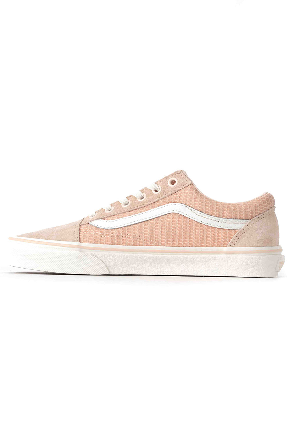 (U3BXF4) Multi Woven Old Skool Shoe - Pink  4