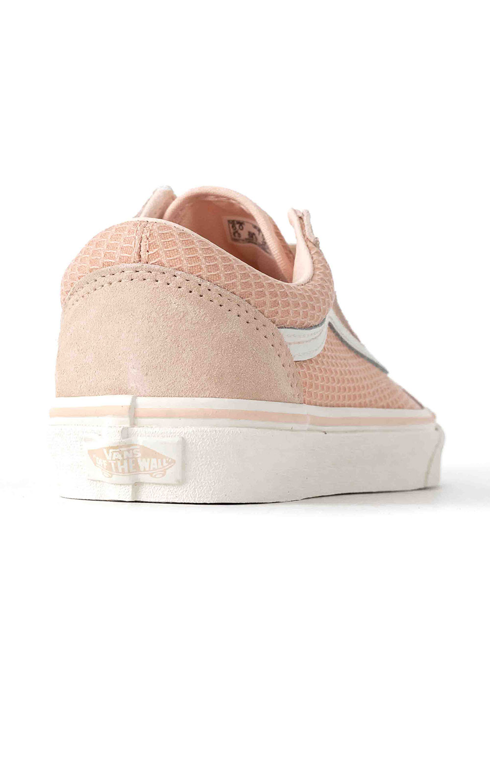(U3BXF4) Multi Woven Old Skool Shoe - Pink  5