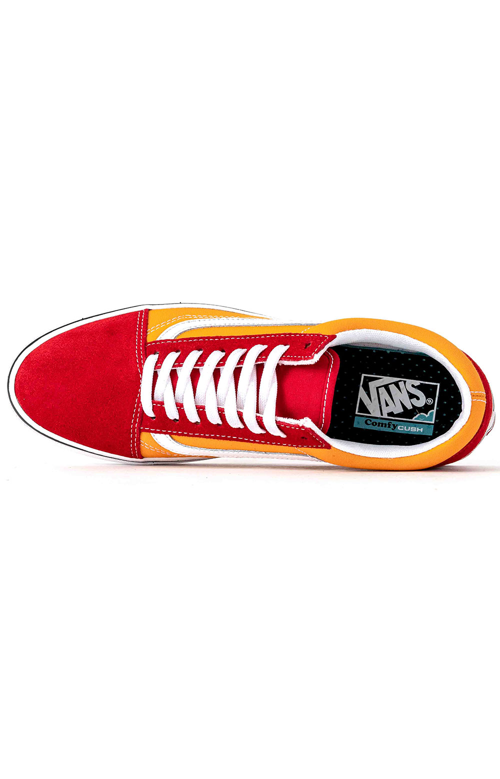 (WMAWX4) Tape Mix Old Skool ComfyCush Shoes - Red 2