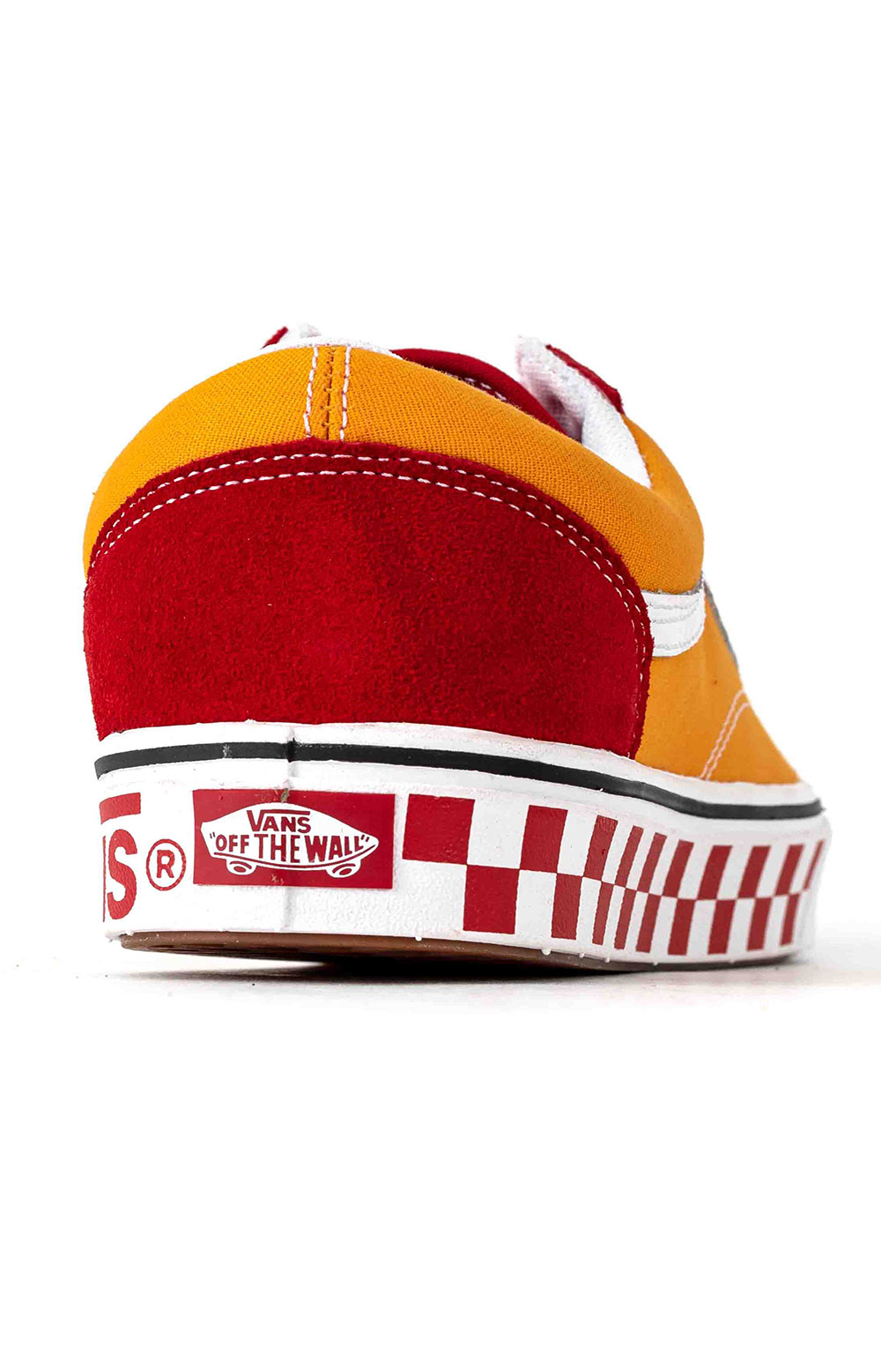 (WMAWX4) Tape Mix Old Skool ComfyCush Shoes - Red 5