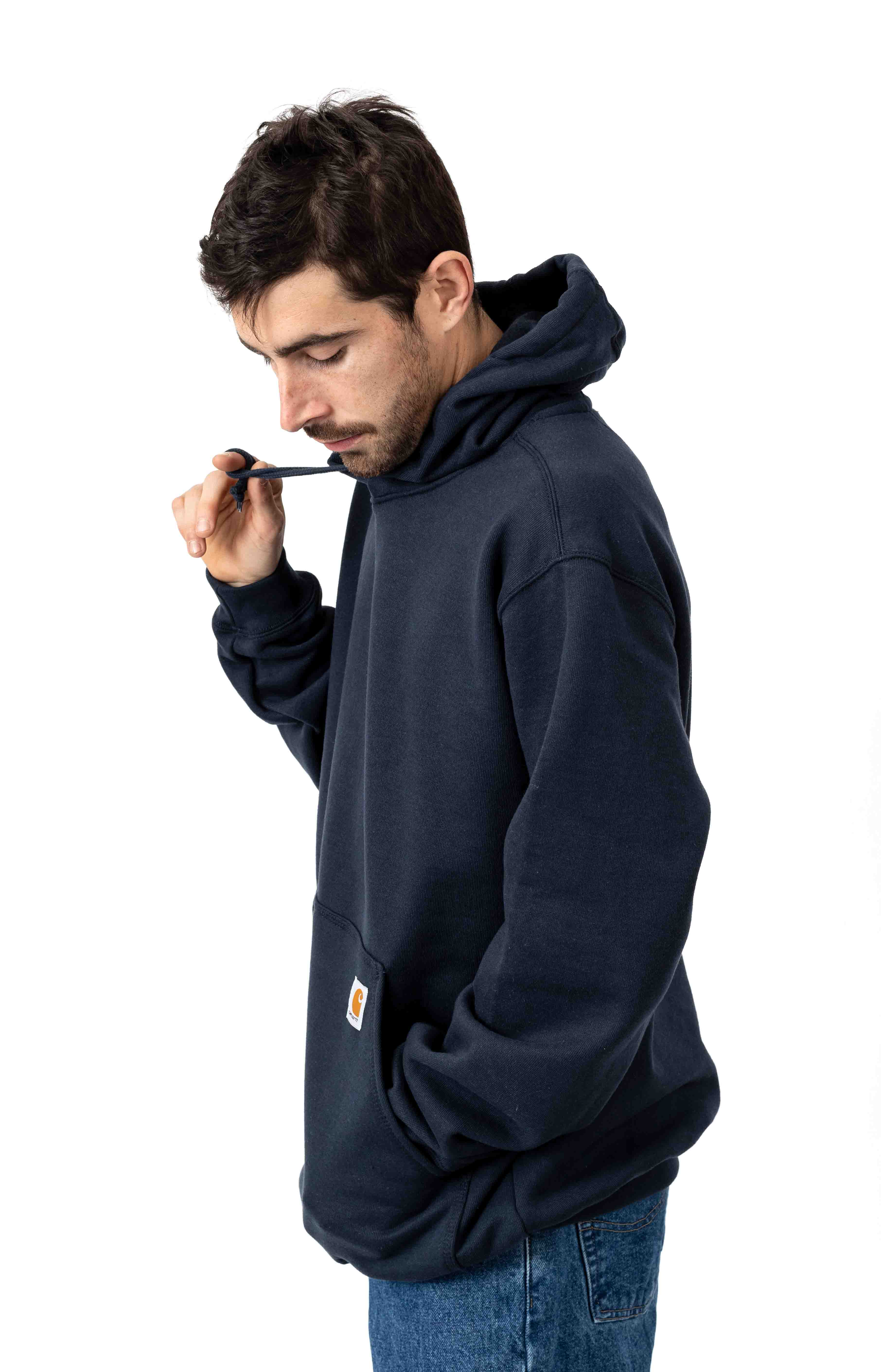 (K121) Midweight Pullover Hoodie - New Navy 2
