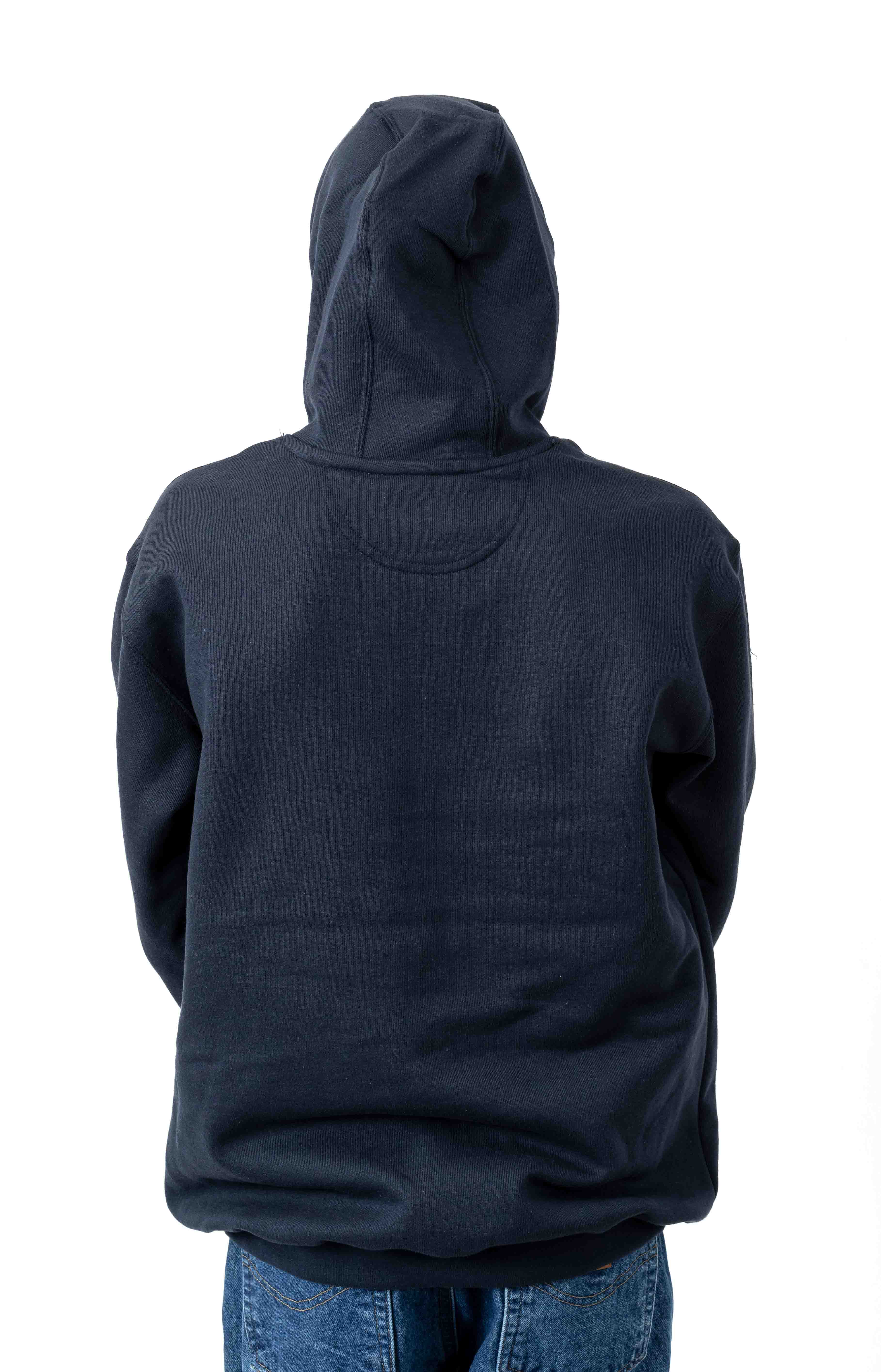 (K121) Midweight Pullover Hoodie - New Navy 3
