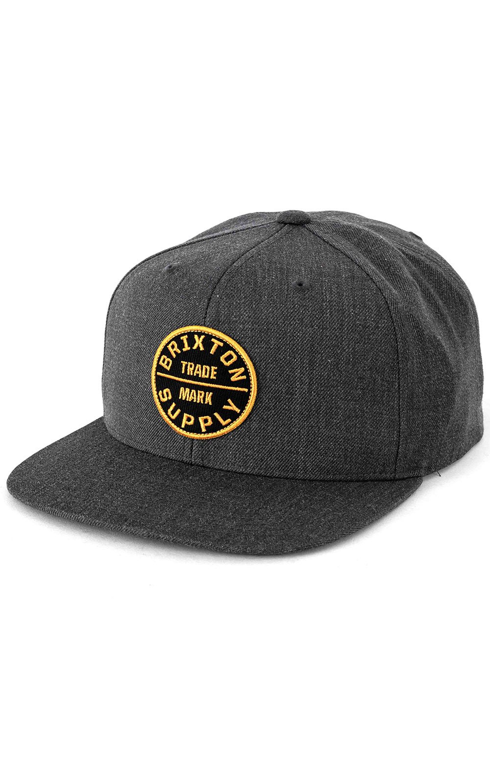 Oath III Snap-Back Hat - Heather Charcoal