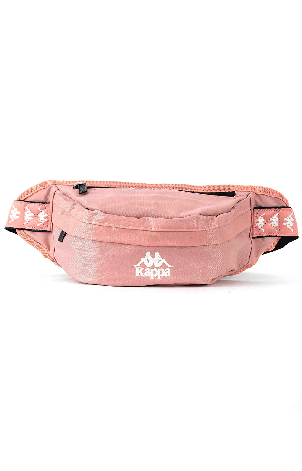 222 Banda Anais Pouch Bag - Dark Pink/White