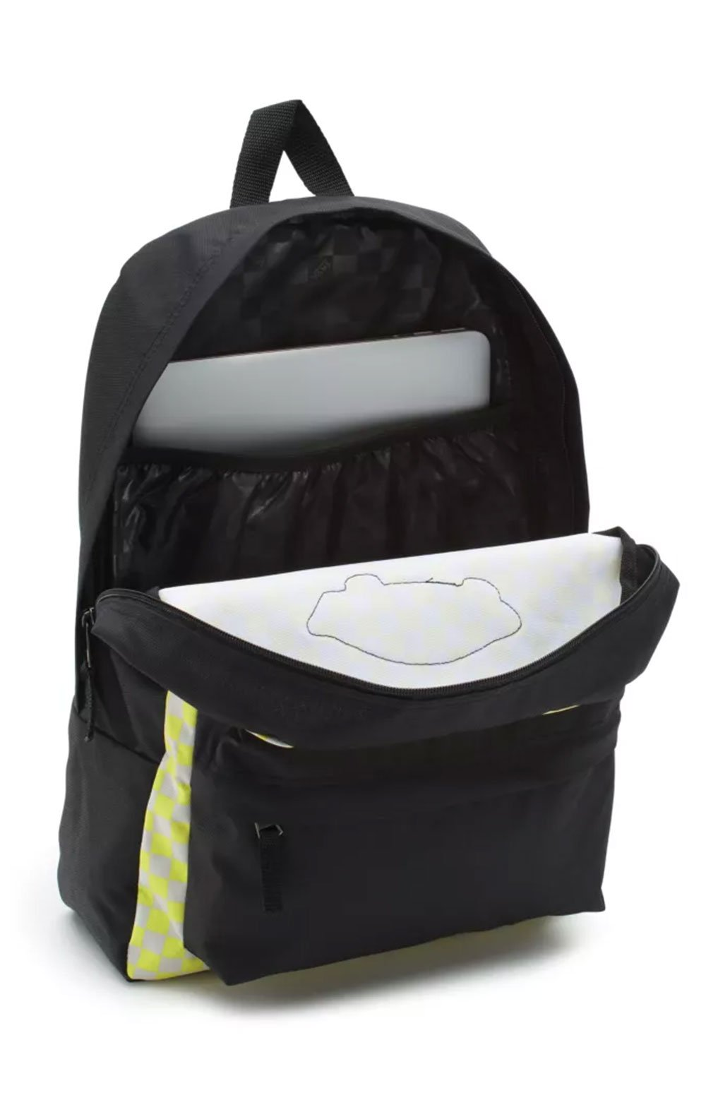 Realm Printed Backpack - Lemon Tonic Checkerboard  2