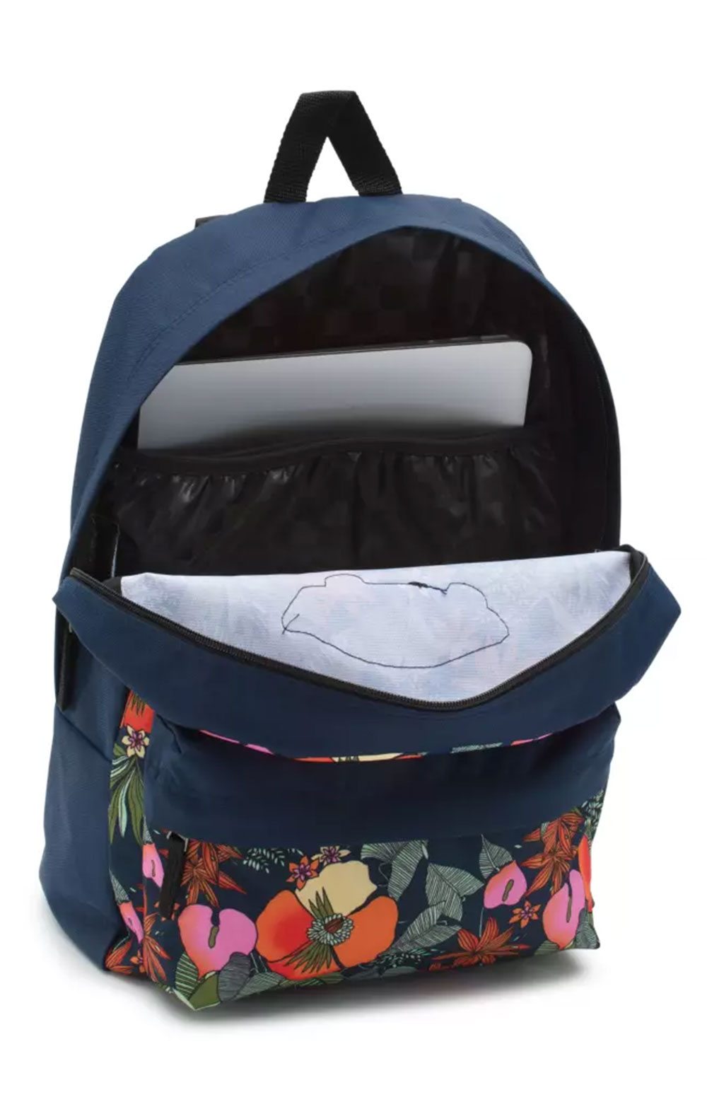 Realm Printed Backpack - Multi Tropic Dress Blues  3