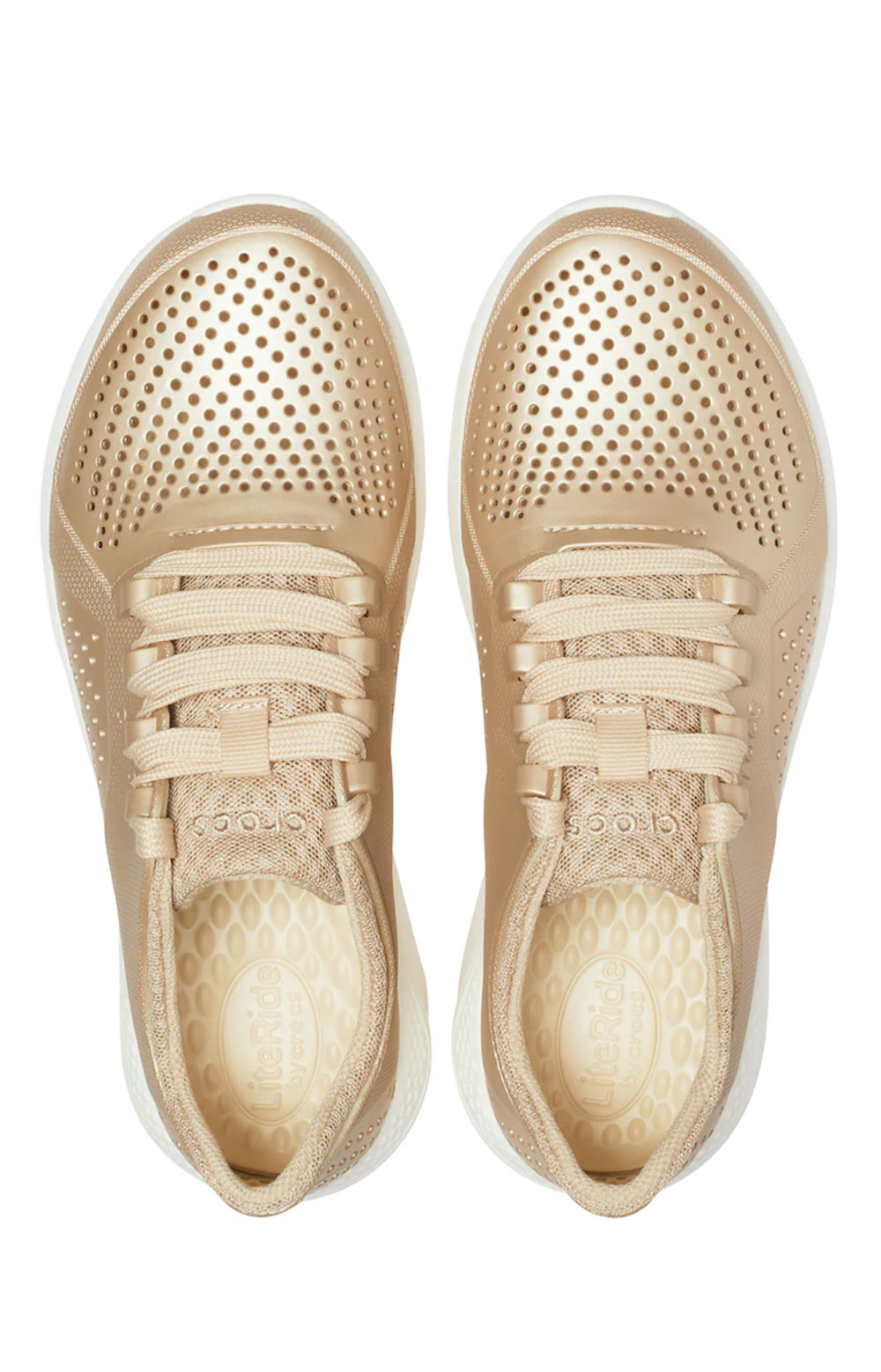 LiteRide Pacer Shoes - Metallic Champagne  5