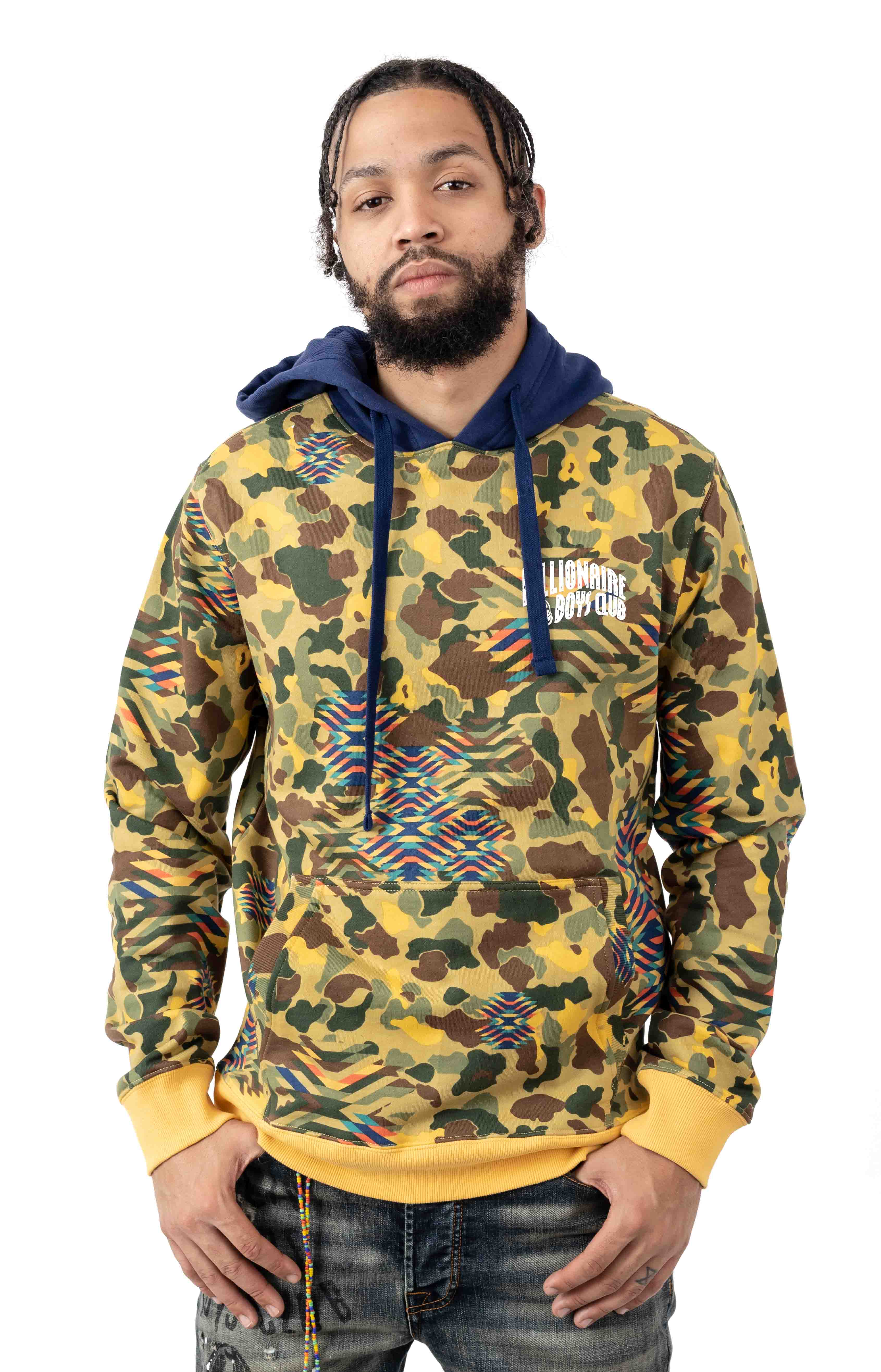 BB Windtalker Pullover Hoodie - Misted Yellow
