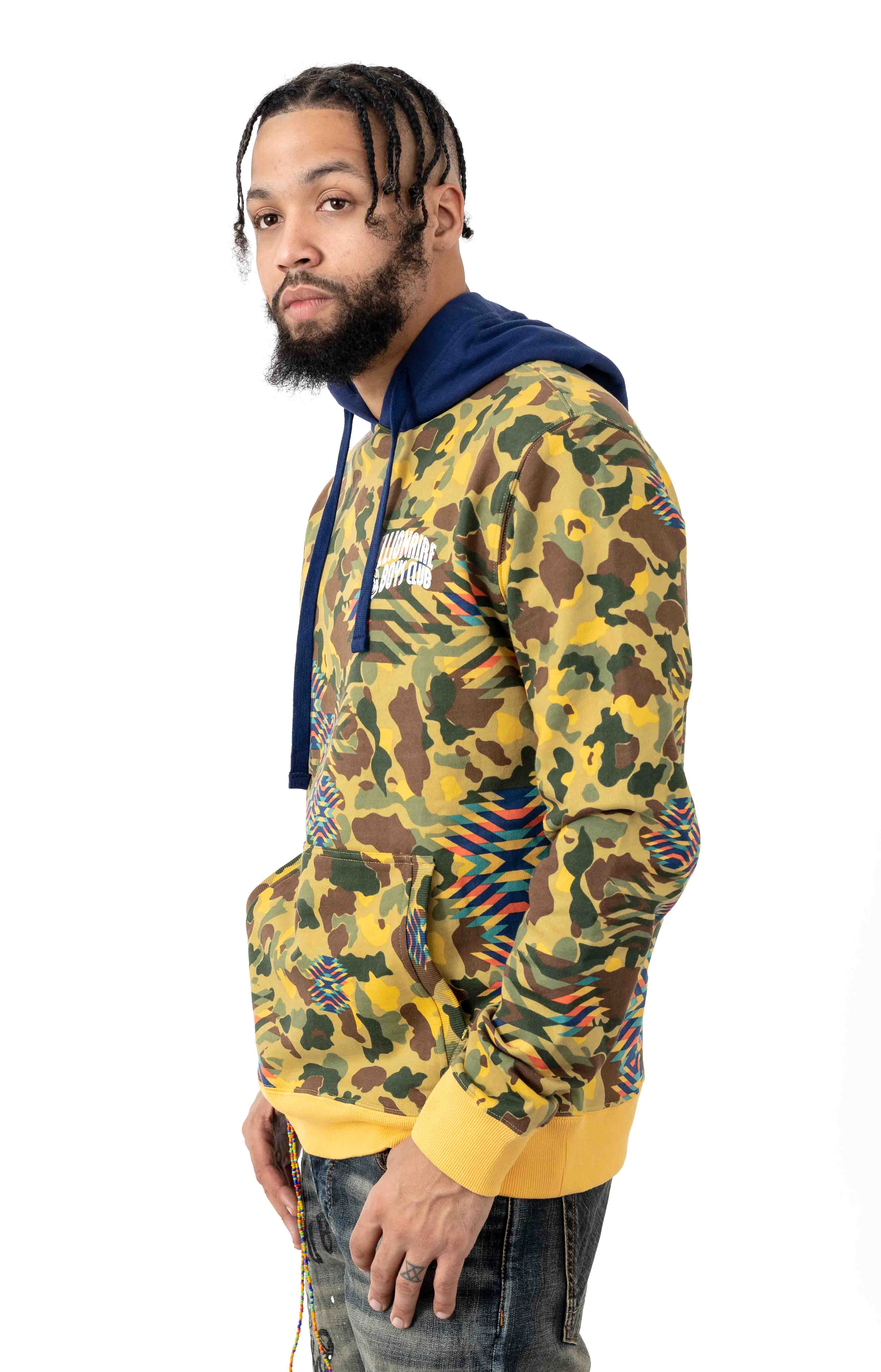 BB Windtalker Pullover Hoodie - Misted Yellow 2