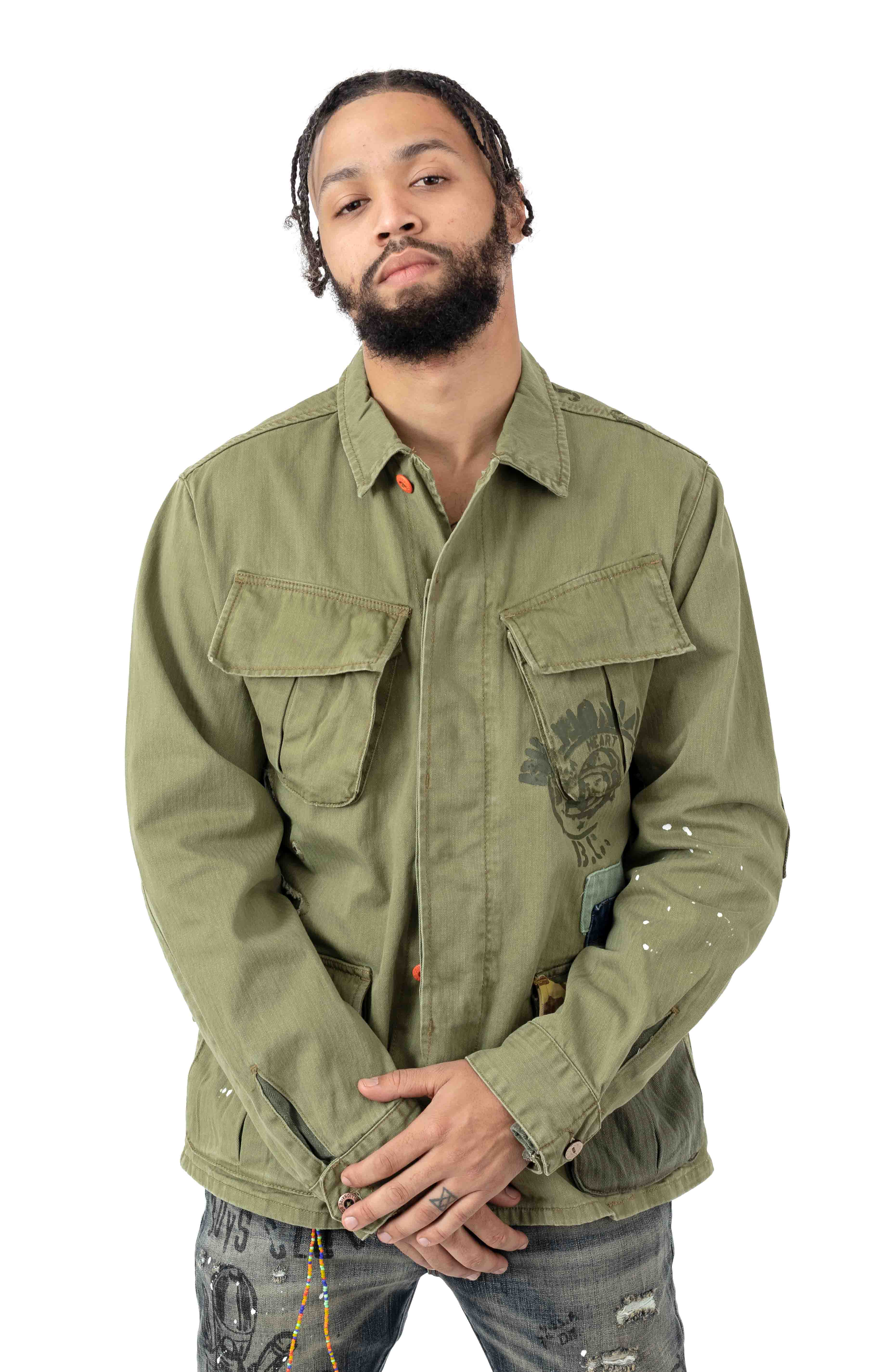 BB Fatigued Jacket - Loden Green