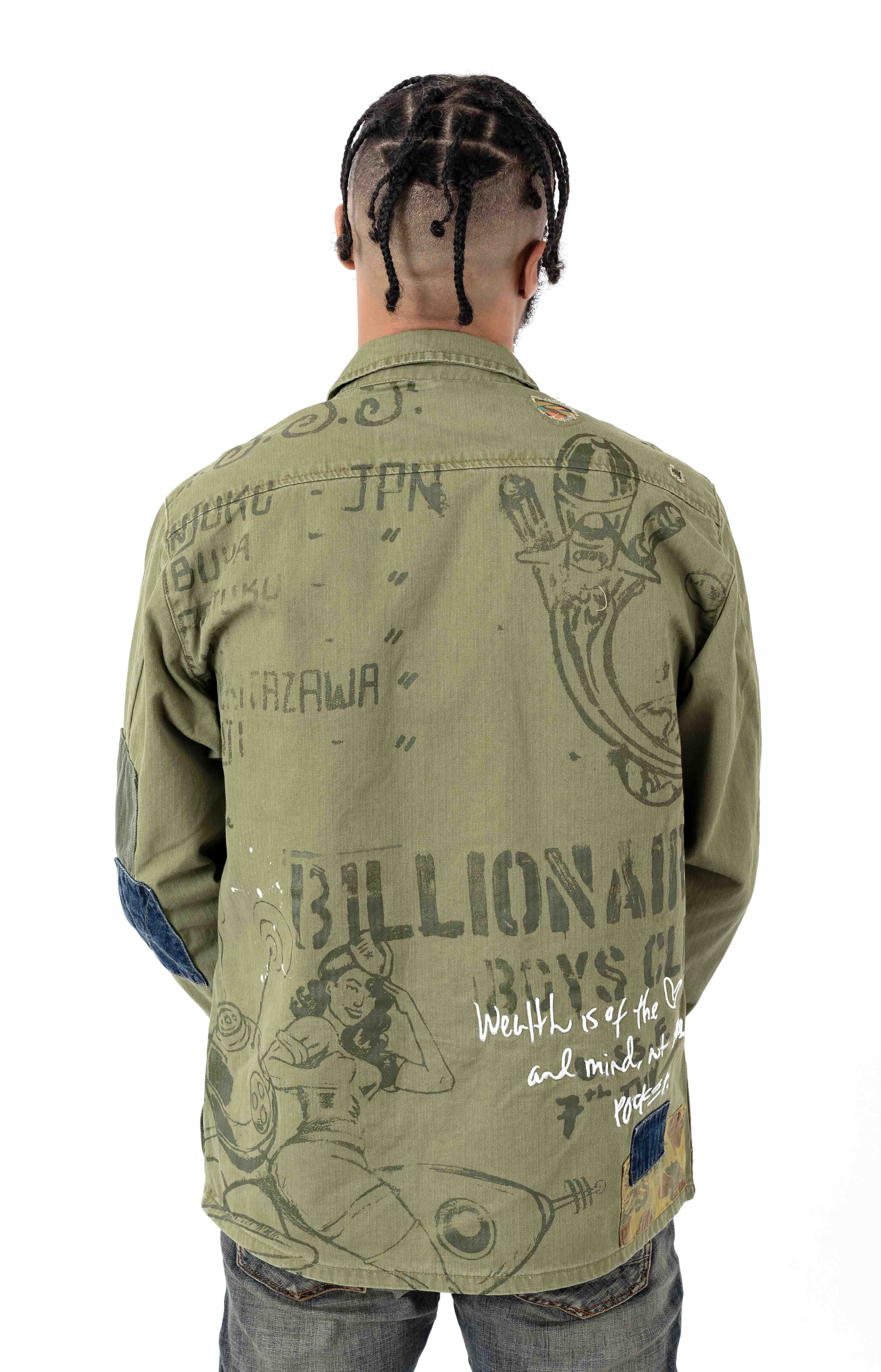 BB Fatigued Jacket - Loden Green  3