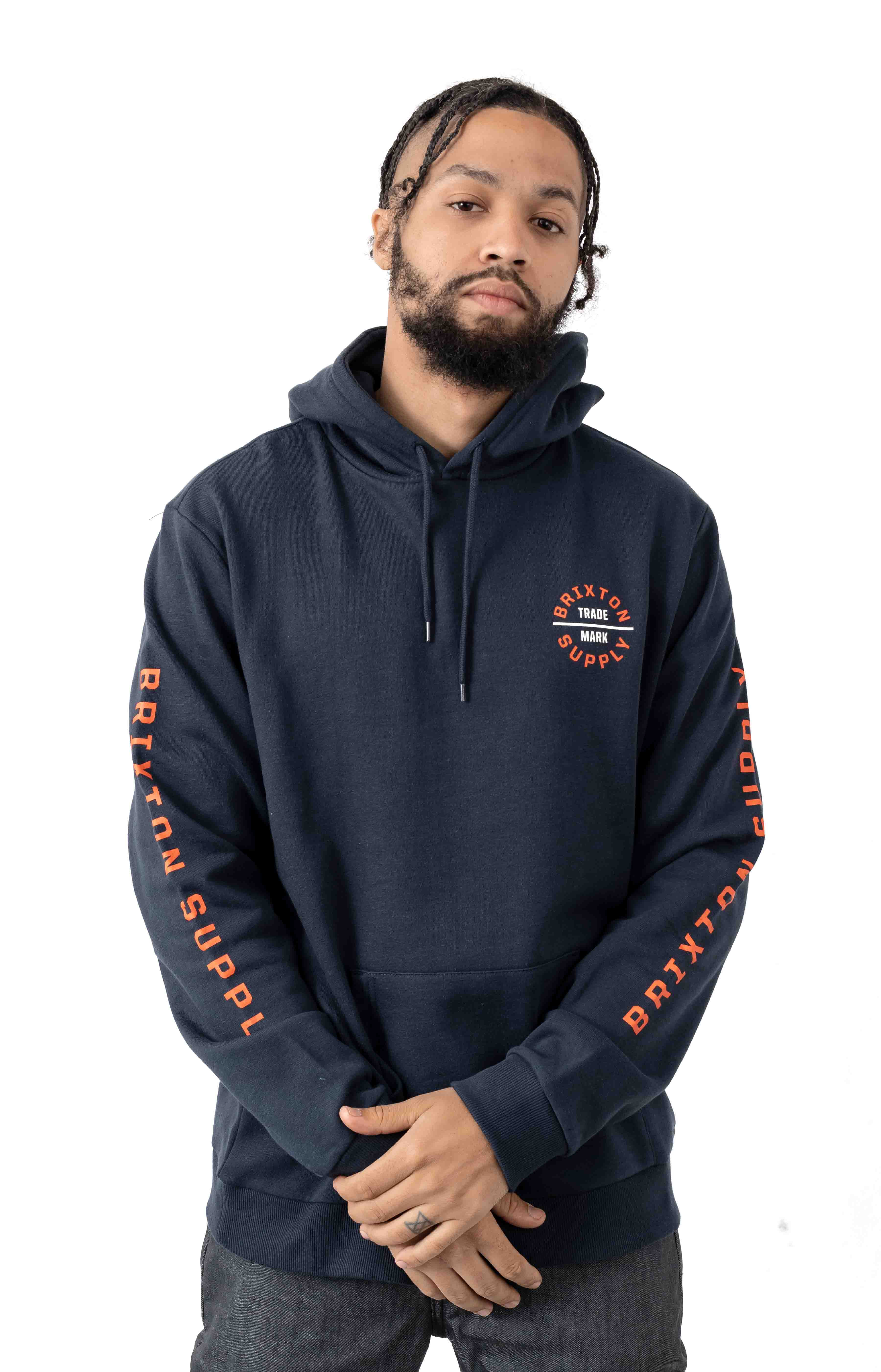 Oath VI Pullover Hoodie - Washed Navy