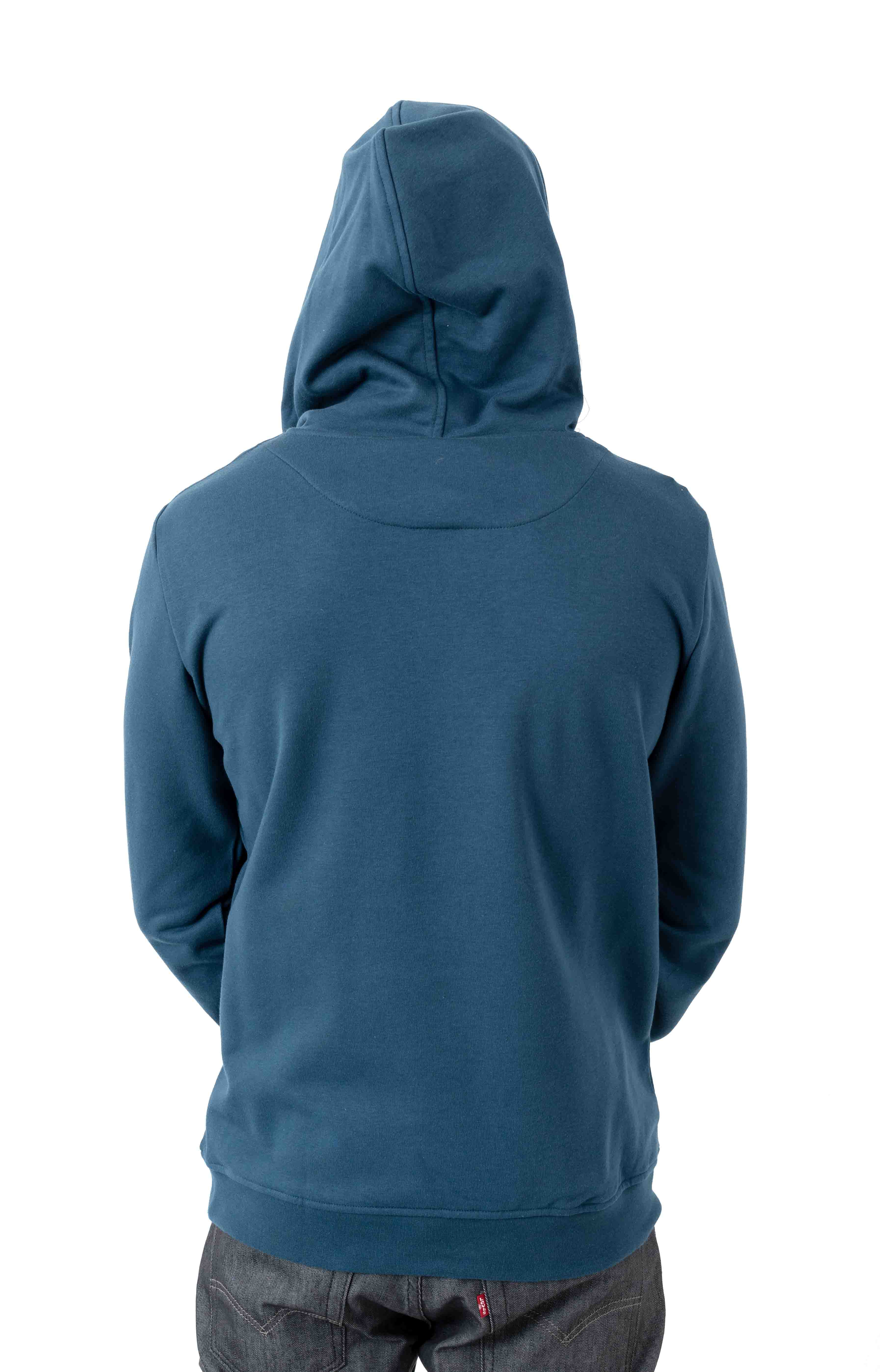 Authentic Zimim Pullover Hoodie - Blue/Dark White 3
