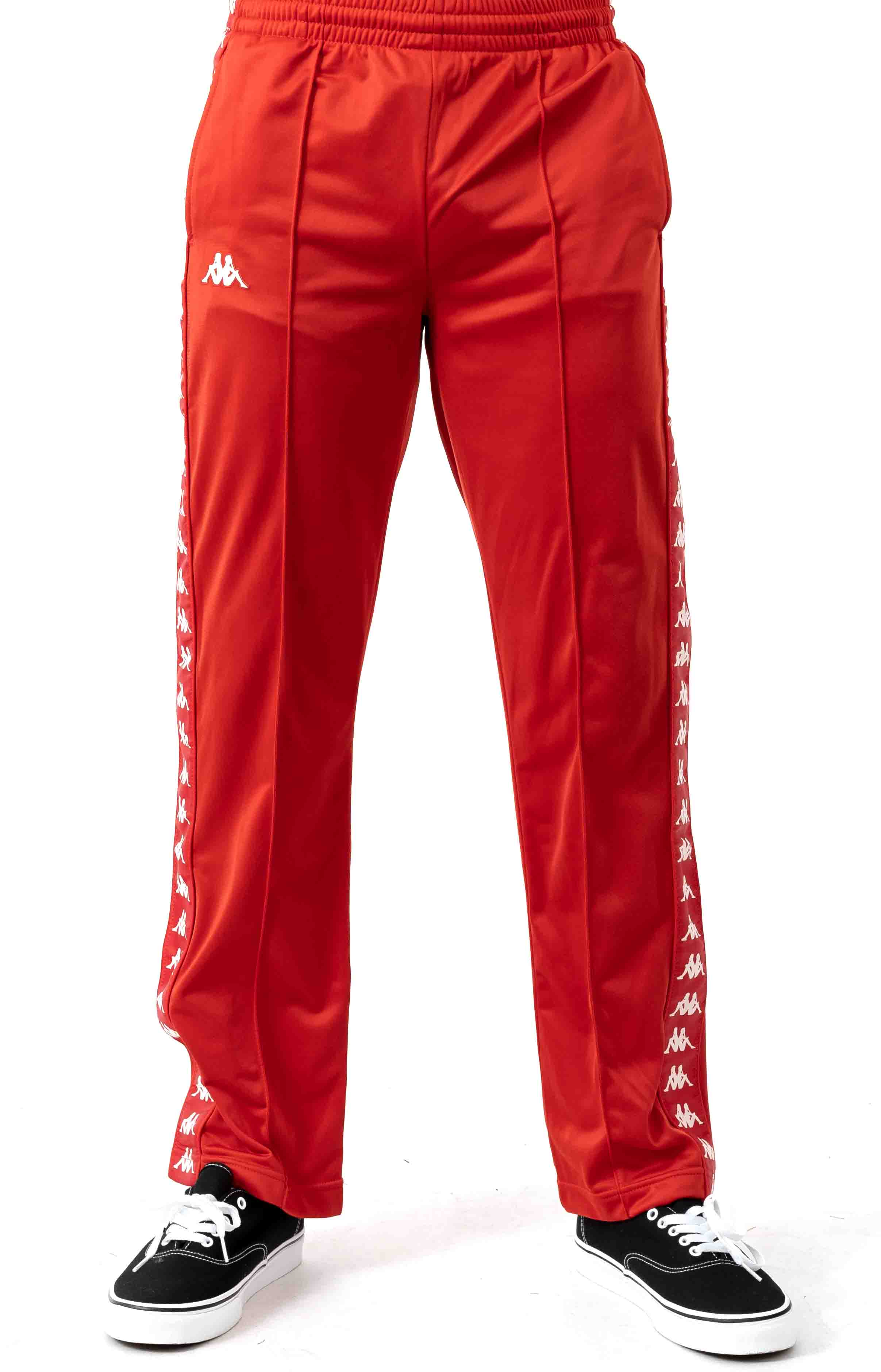 222 Banda Astoriazz Trackpant - Red/White 2