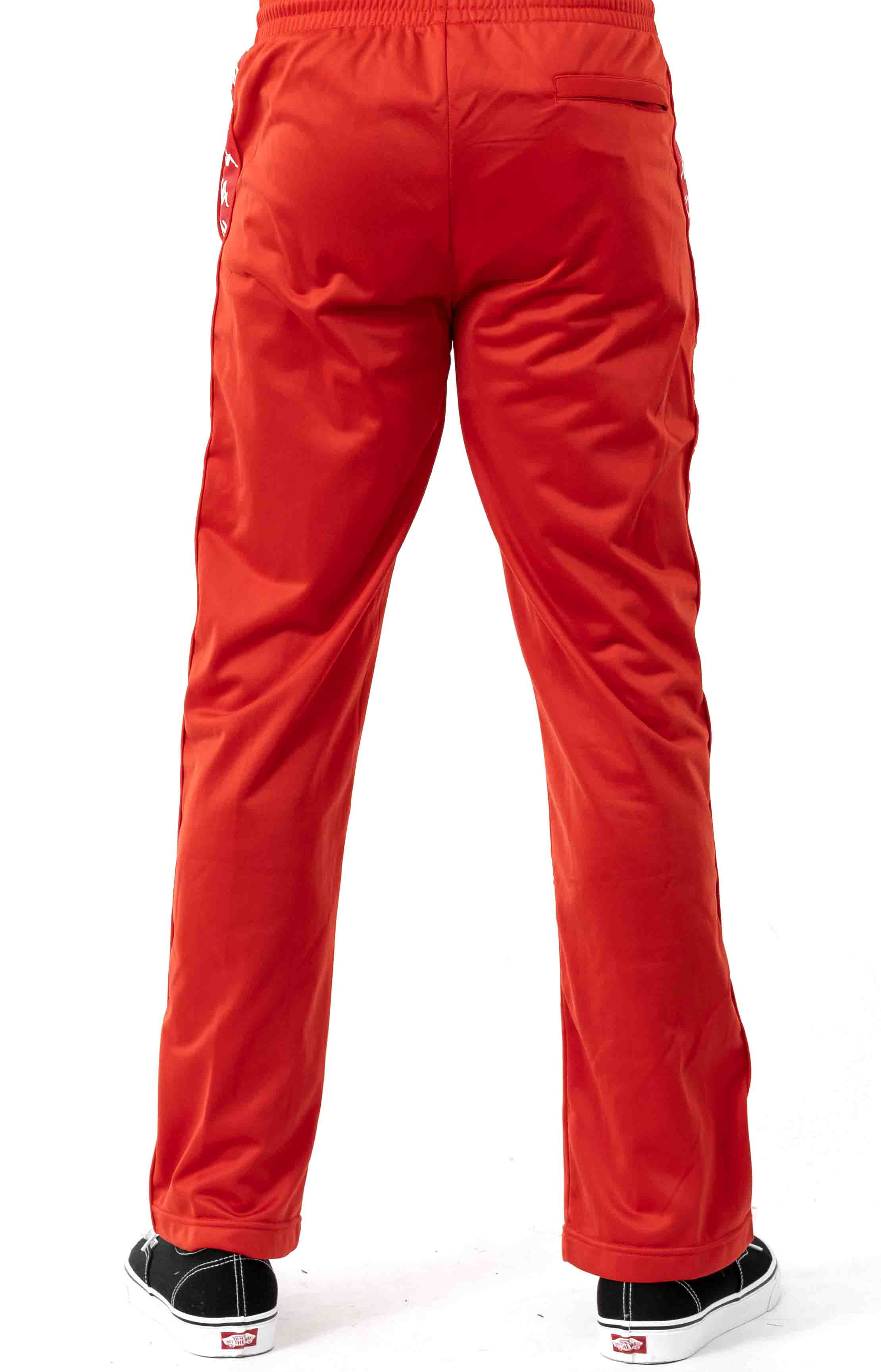 222 Banda Astoriazz Trackpant - Red/White 3