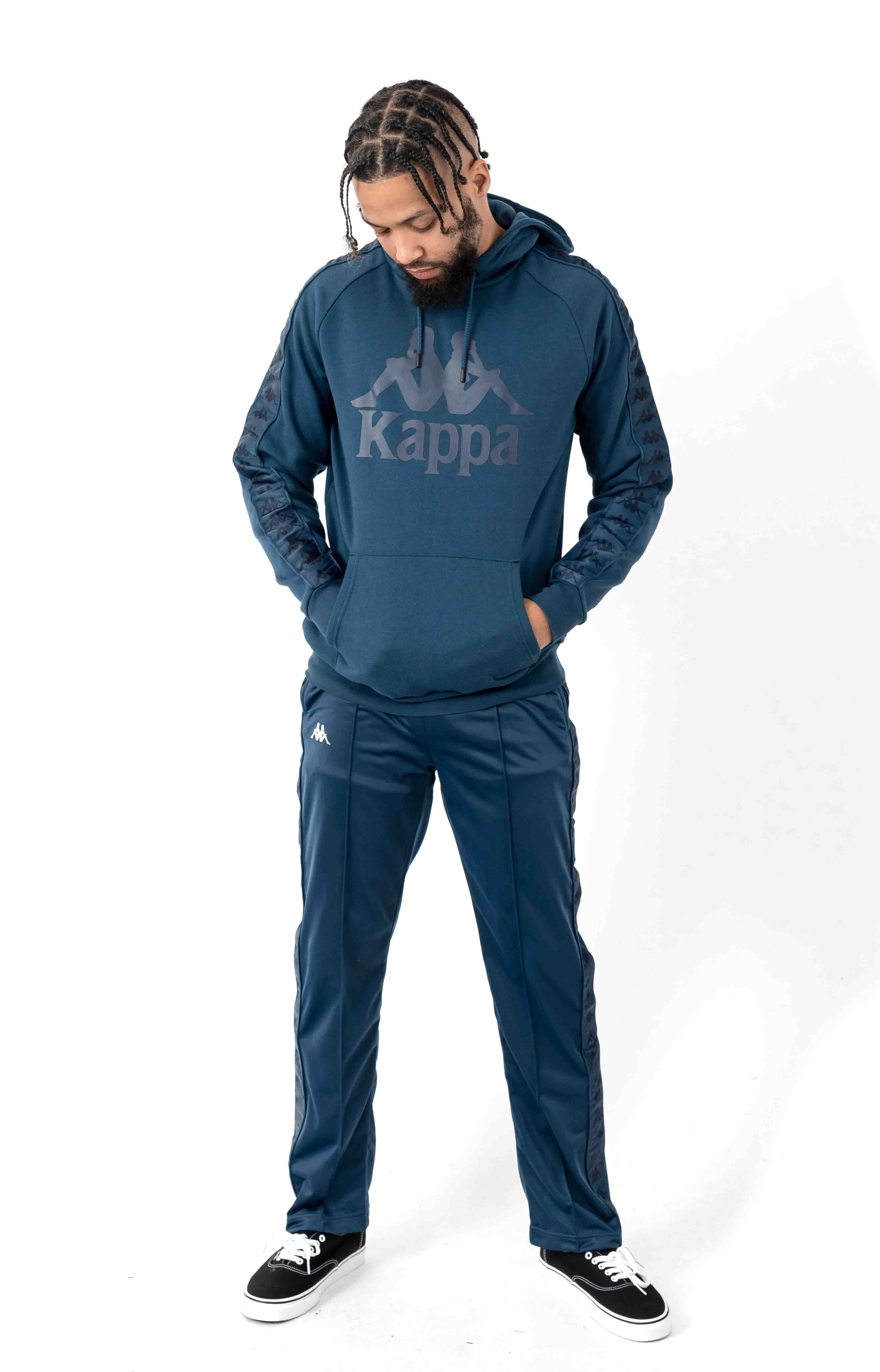 222 Banda Astoriazz Trackpant - Blue/White 4