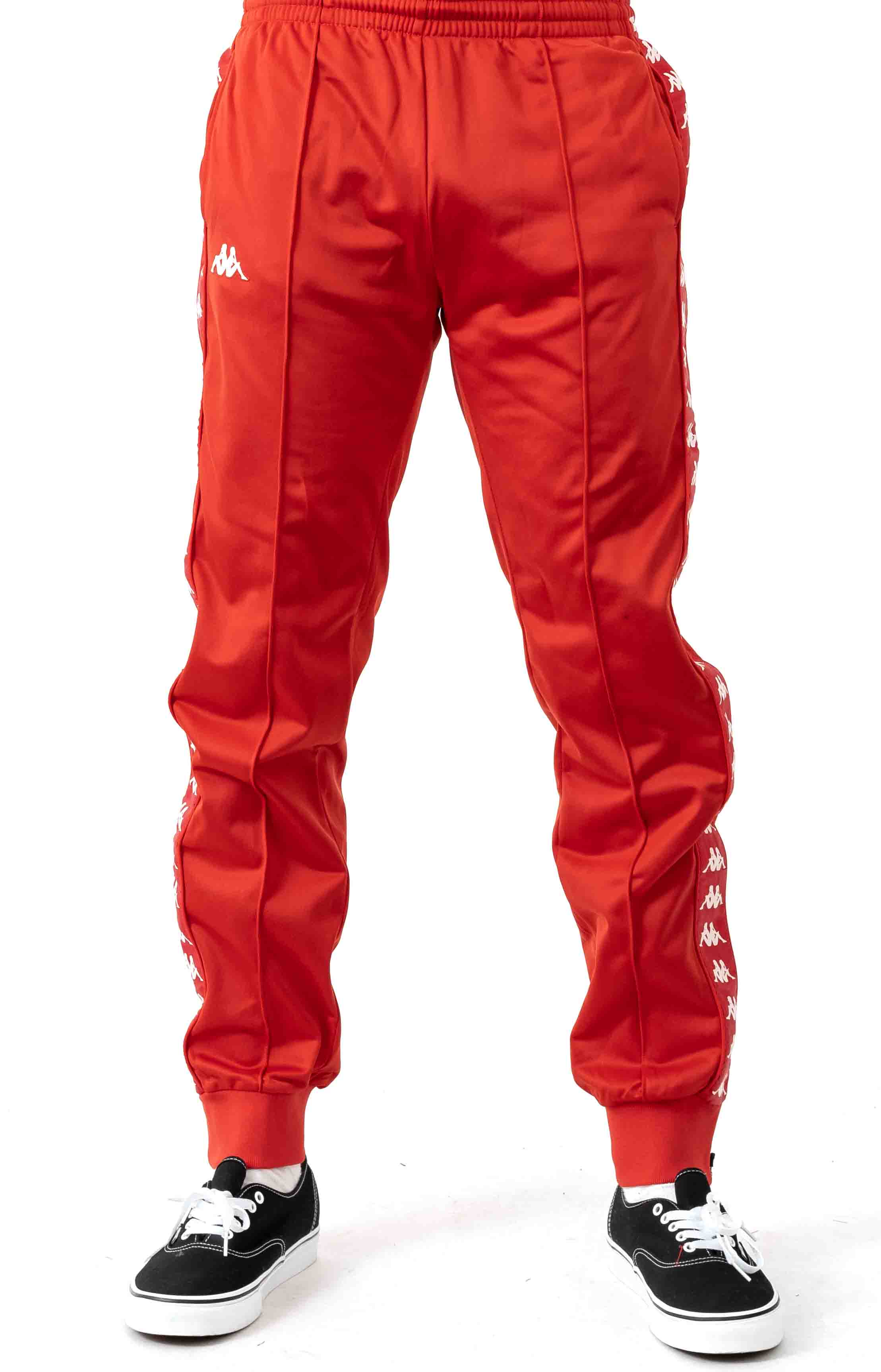 222 Banda Rastoriazz Trackpant - Red/White