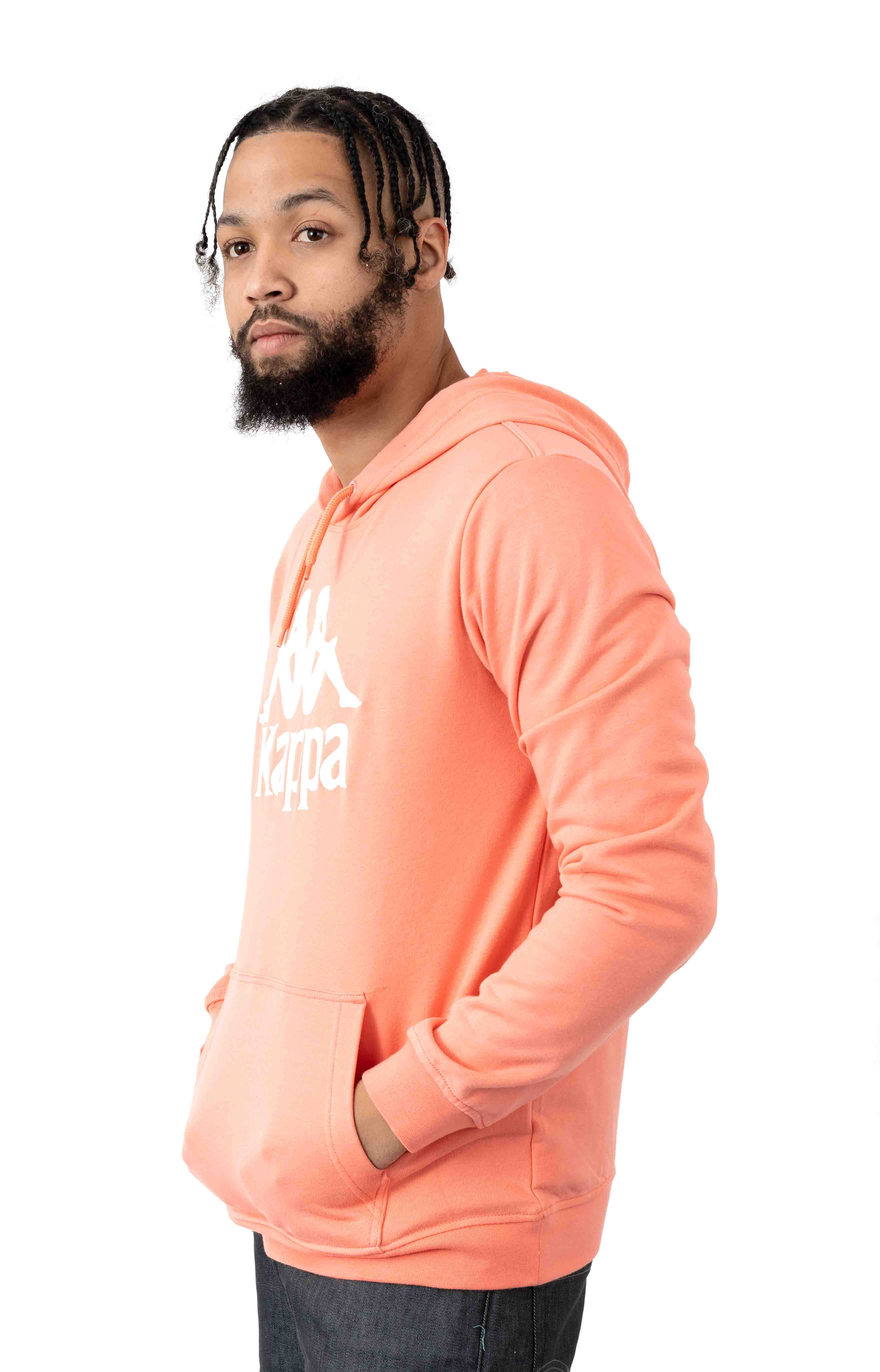 Authentic Zimim Pullover Hoodie - Pink/White 2