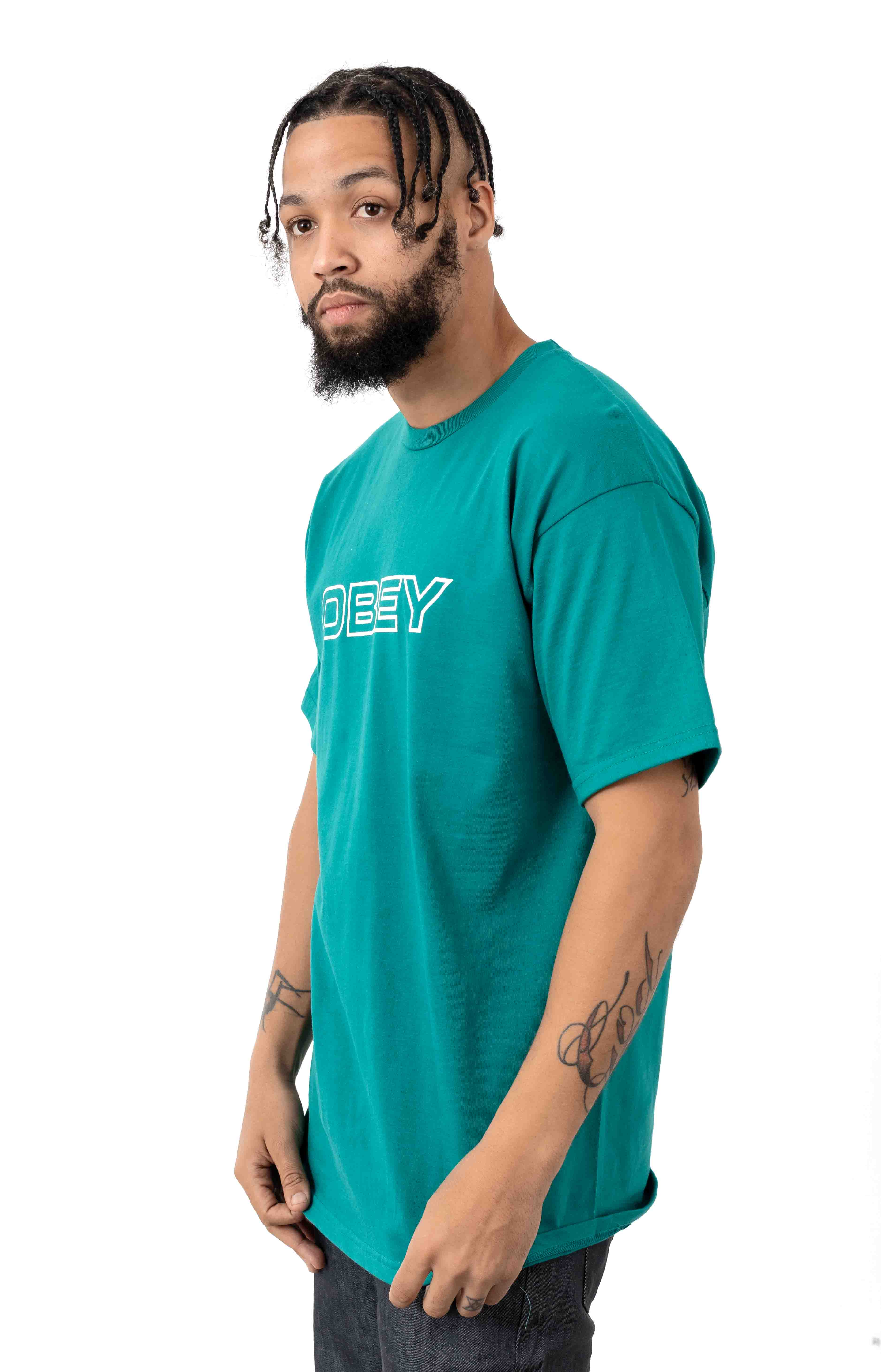 Ceremony T-Shirt - Teal 2