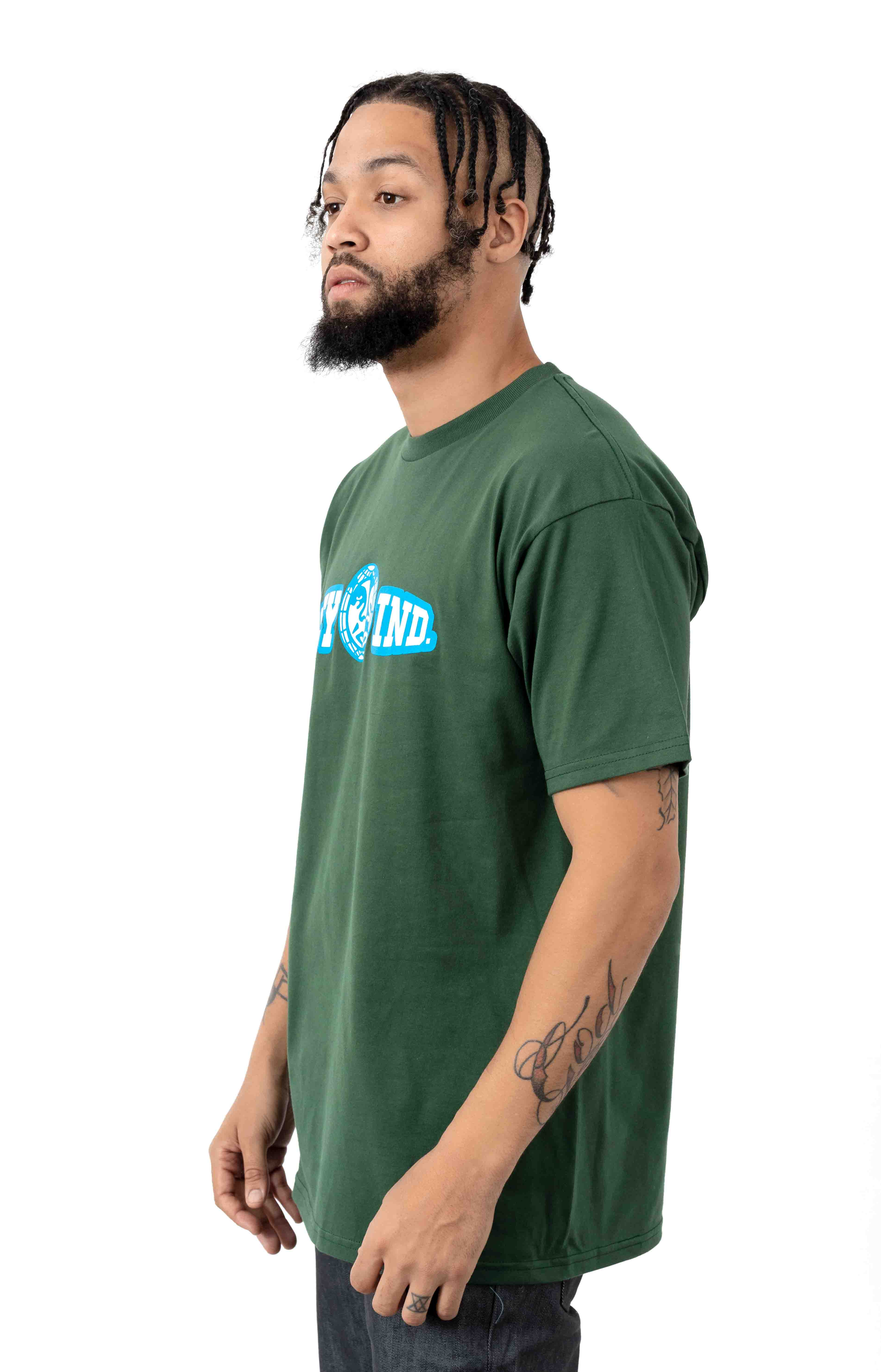 Obey Unity & Respect T-Shirt - Forest Green  2