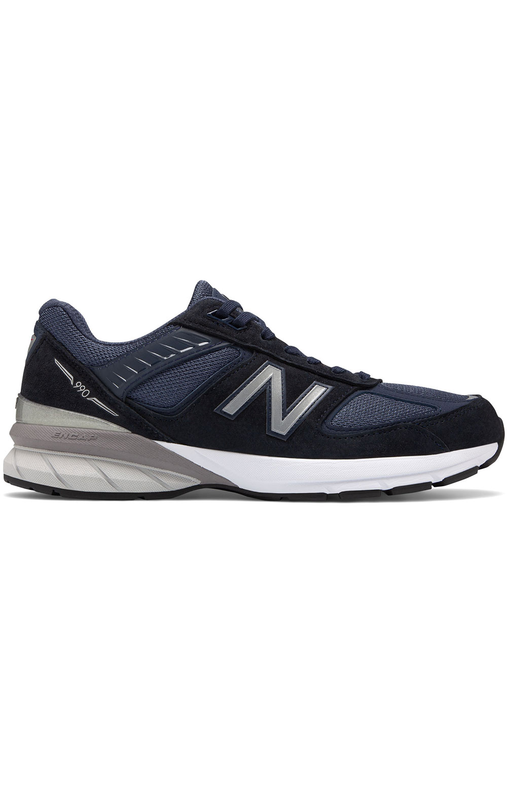 (M990NV5) Made in USA 990v5 Shoe - Navy/Silver