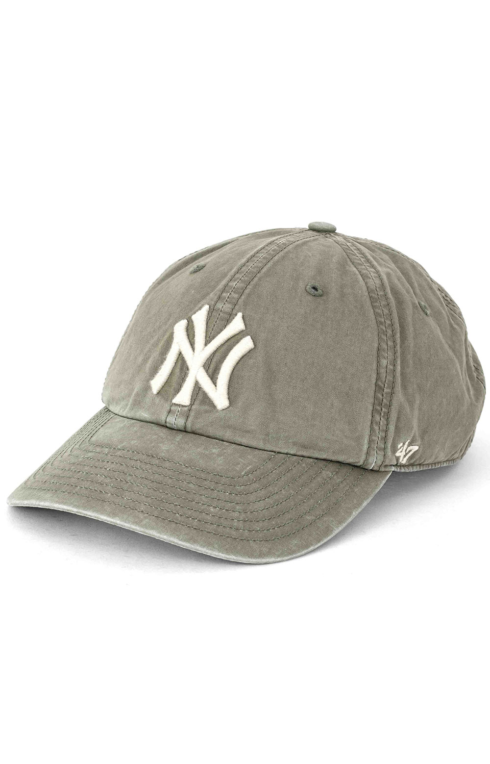 New York Yankees Hudson 47 Clean Up Cap - Canopy Green
