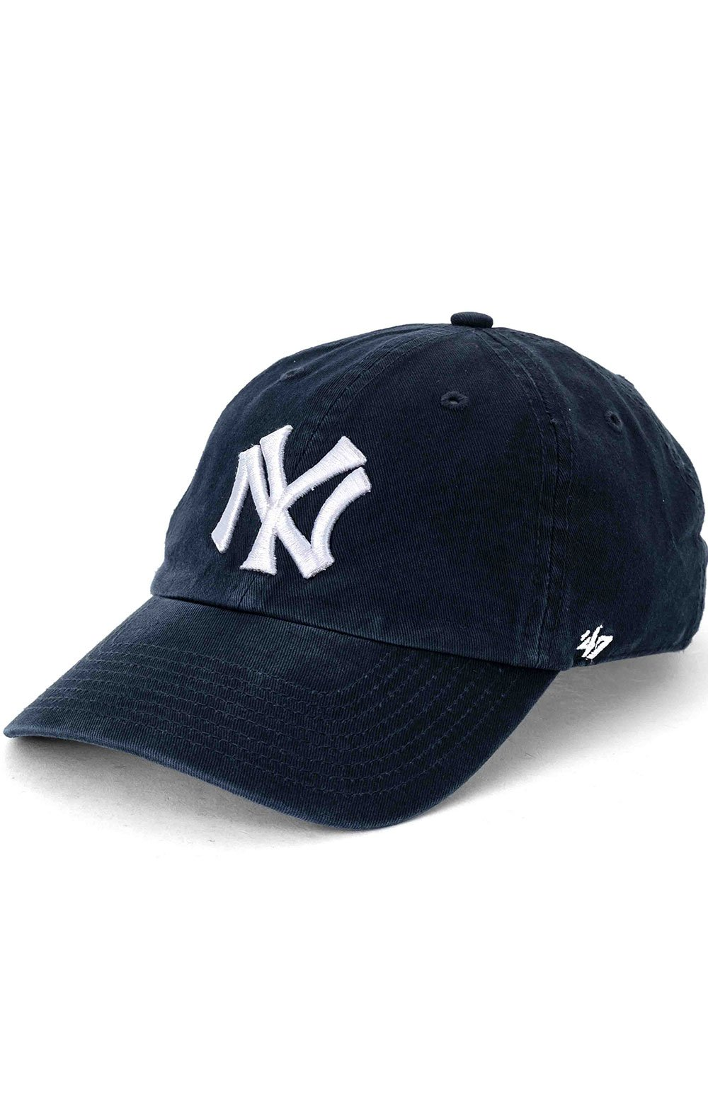 New York Yankees Cooperstown 47 Clean Up Cap - Navy