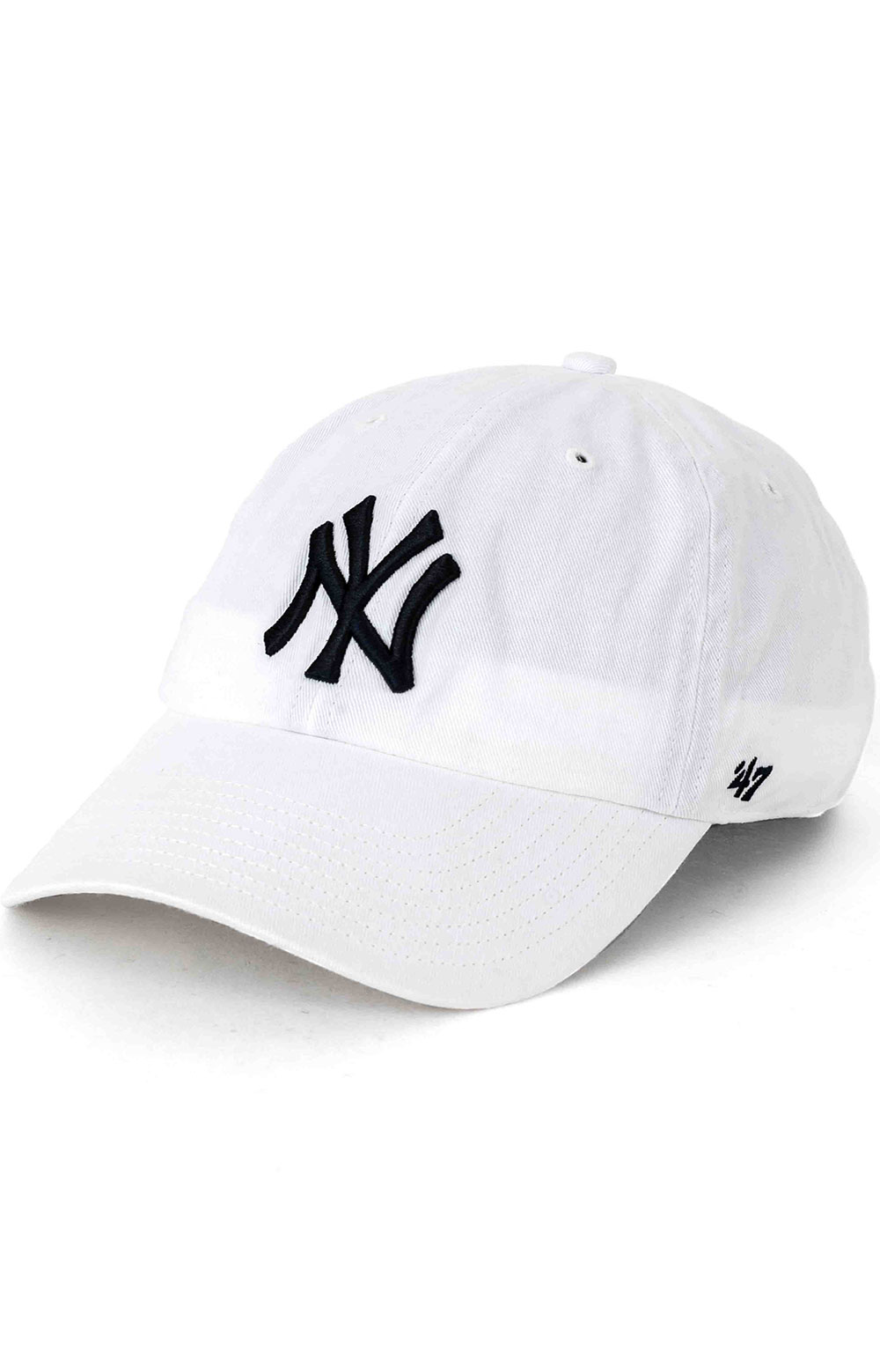 New York Yankees 47 Clean Up Cap - White