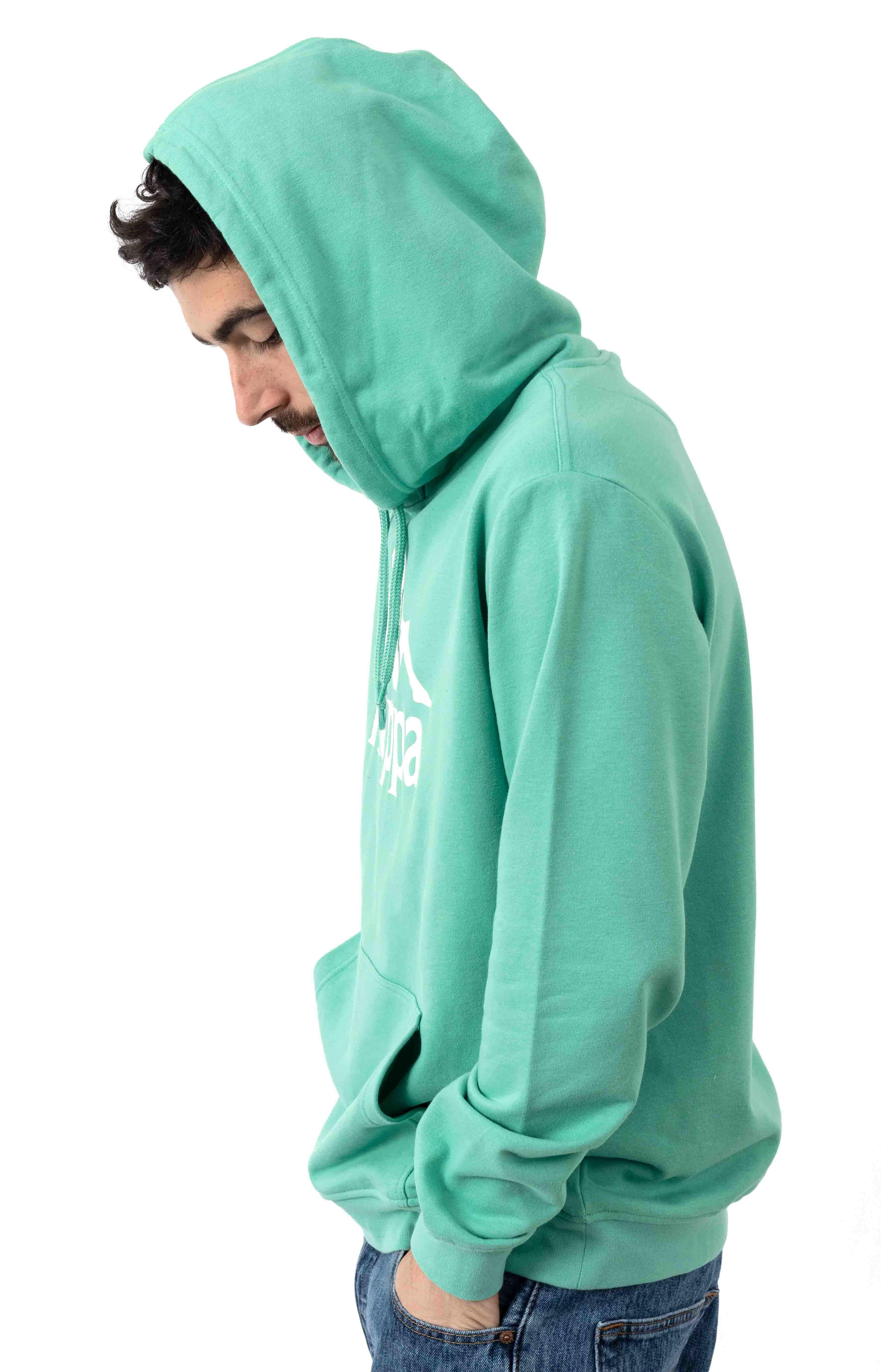 Authentic Zimim Pullover Hoodie - Green/White 2