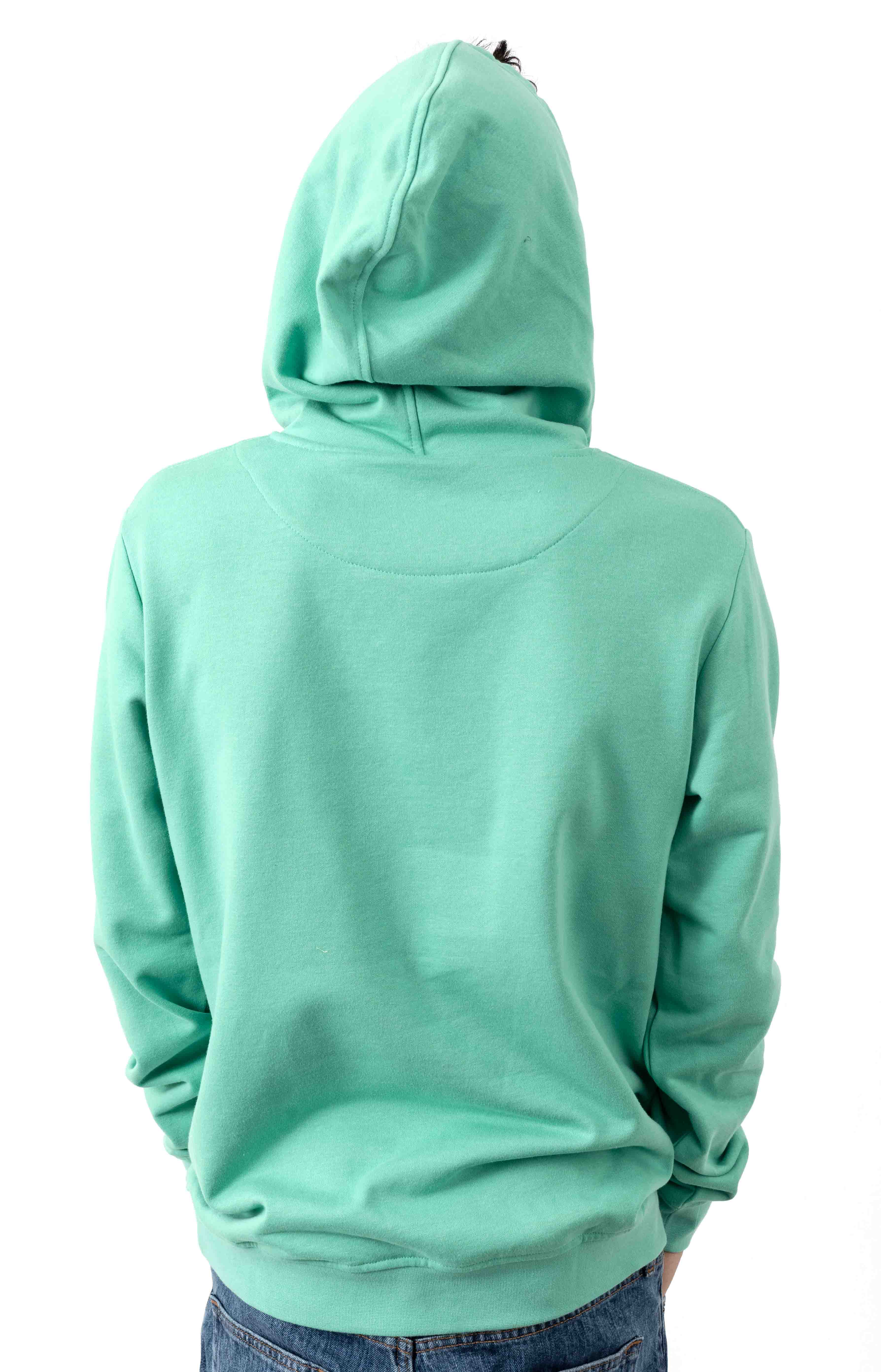Authentic Zimim Pullover Hoodie - Green/White 3