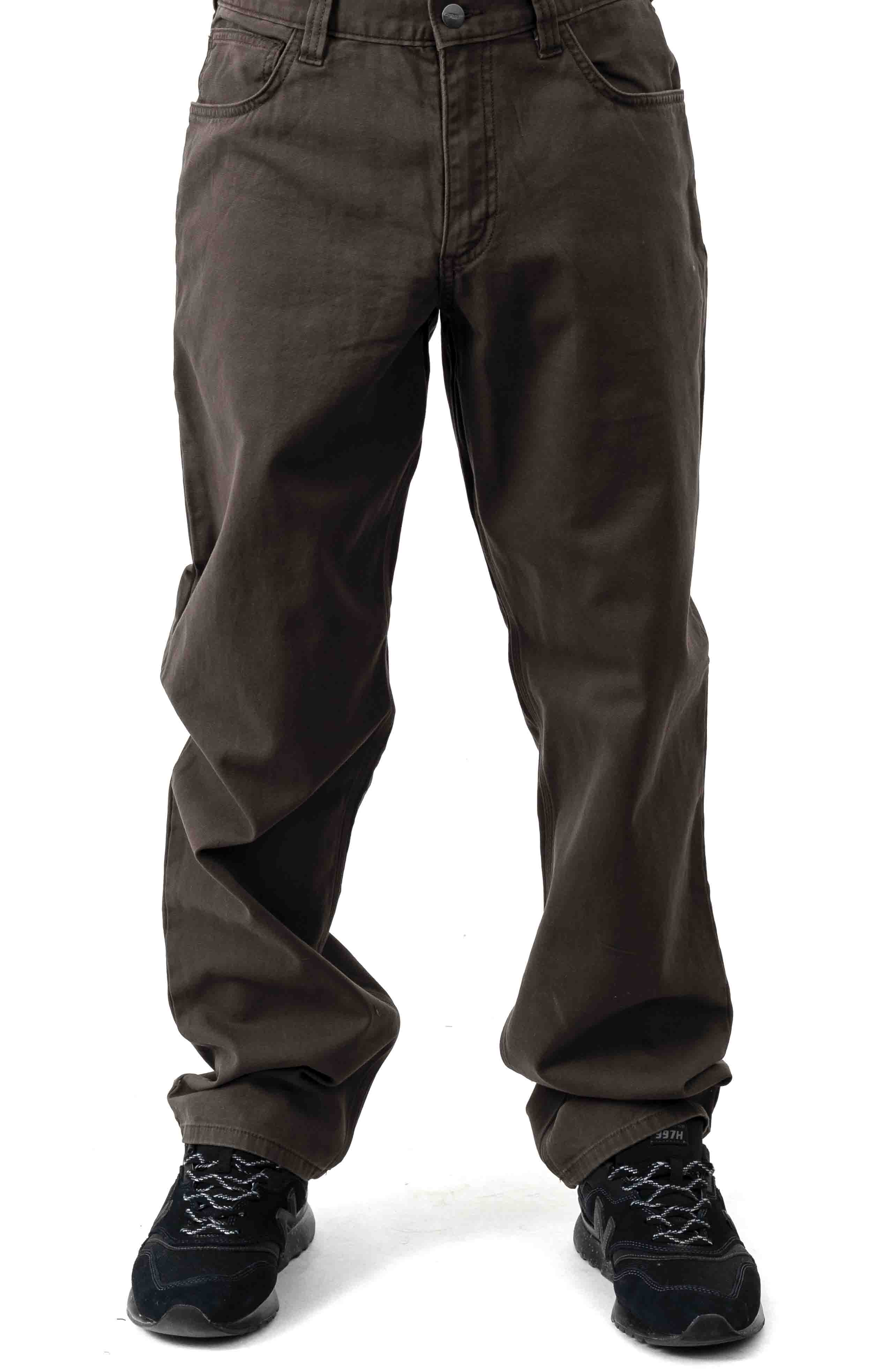 (102517) Rugged Flex Rigby 5 Pocket Work Pant - Dark Coffee 2