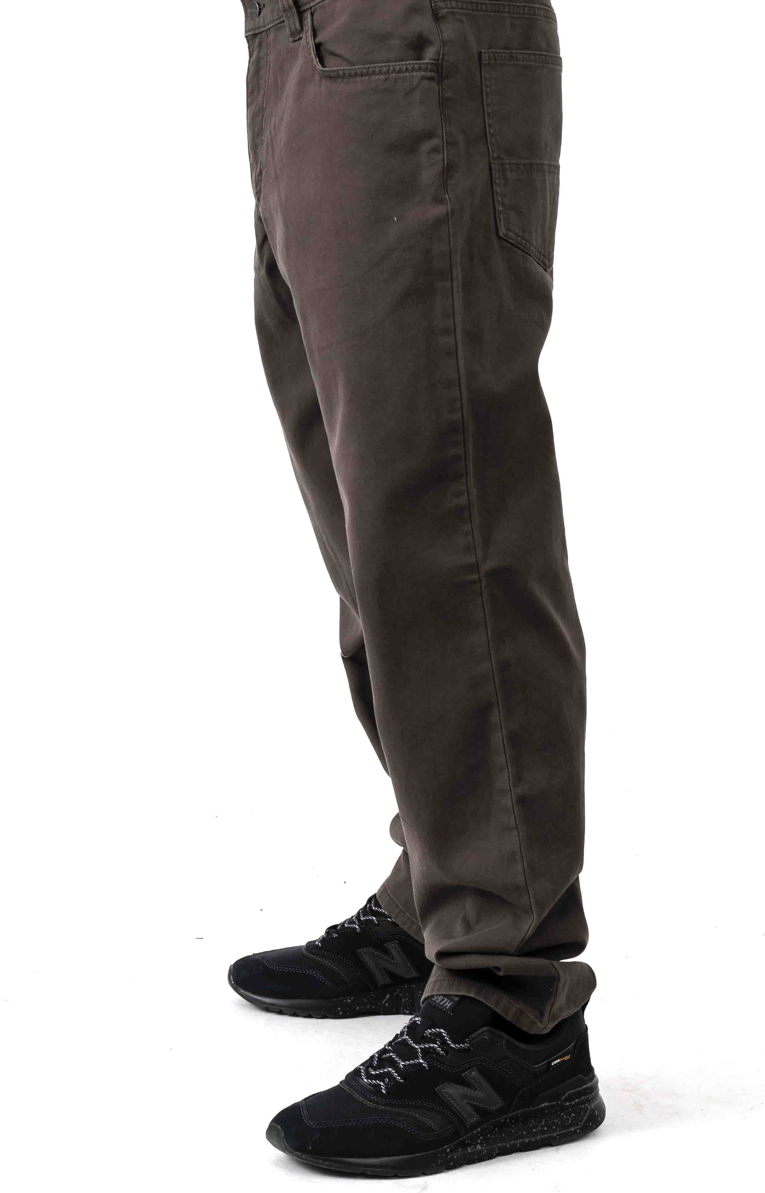 (102517) Rugged Flex Rigby 5 Pocket Work Pant - Dark Coffee